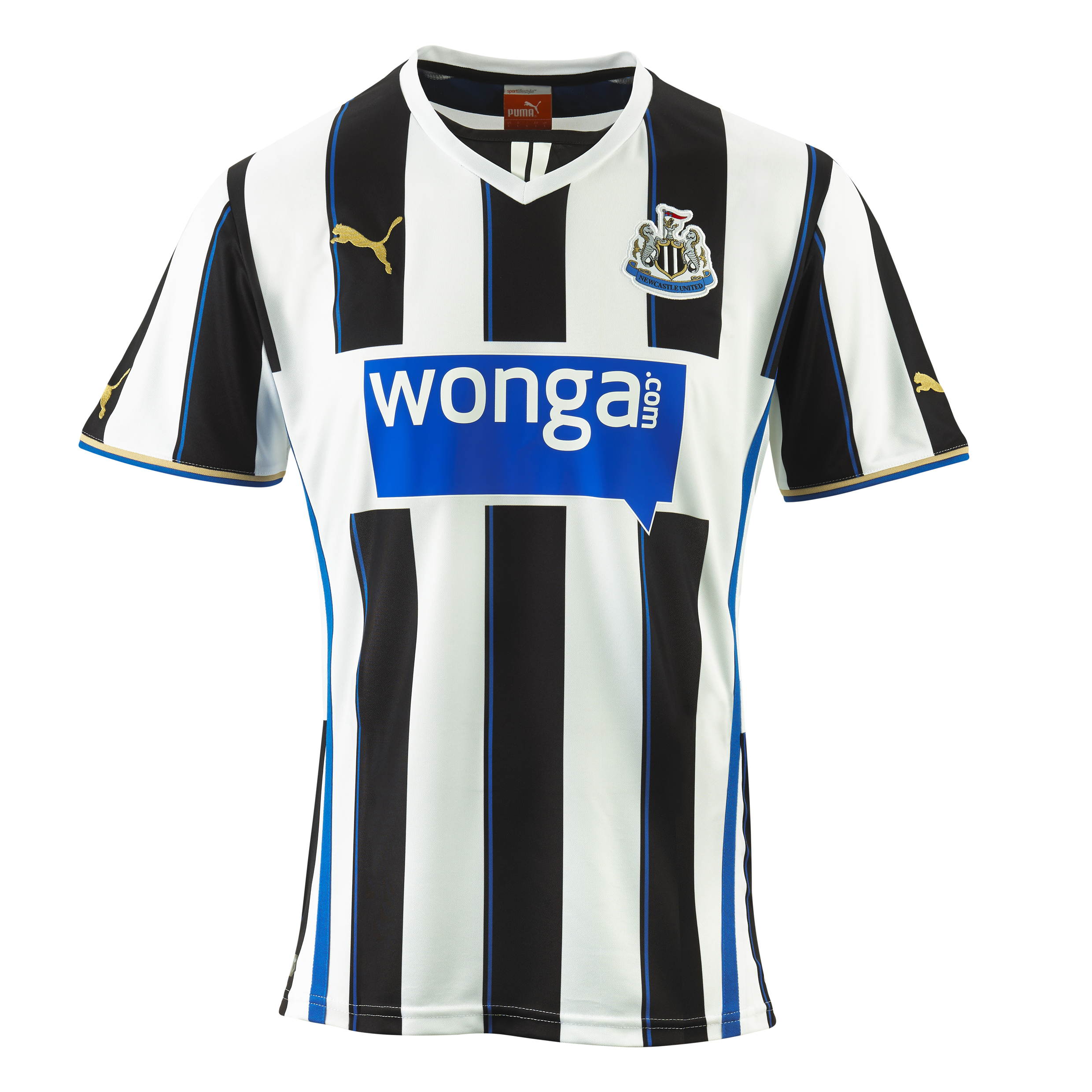 Newcastle United Home Shirt 2013/14 - Outsize