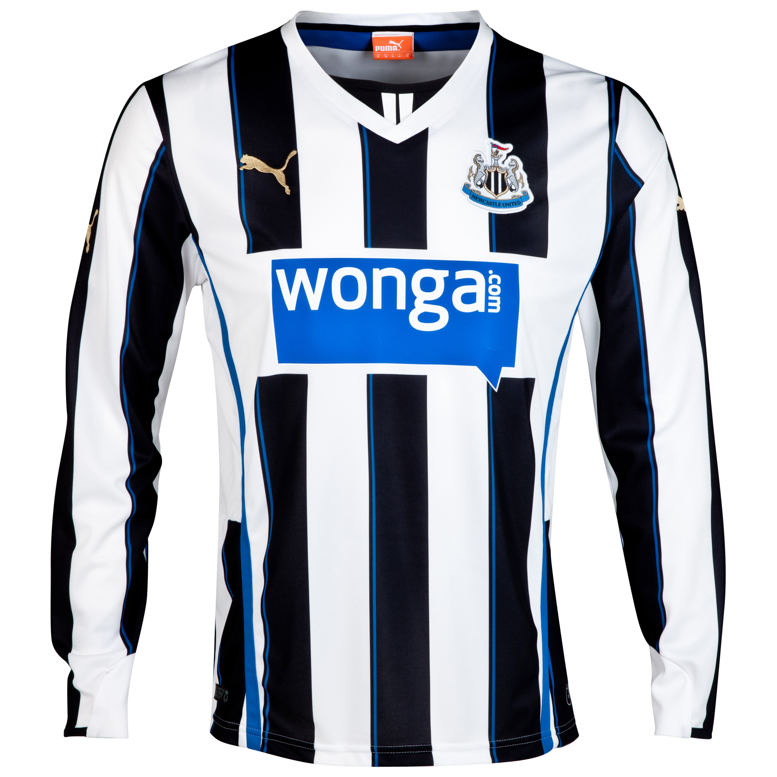 Newcastle United Home Shirt 2013/14 - Long Sleeve