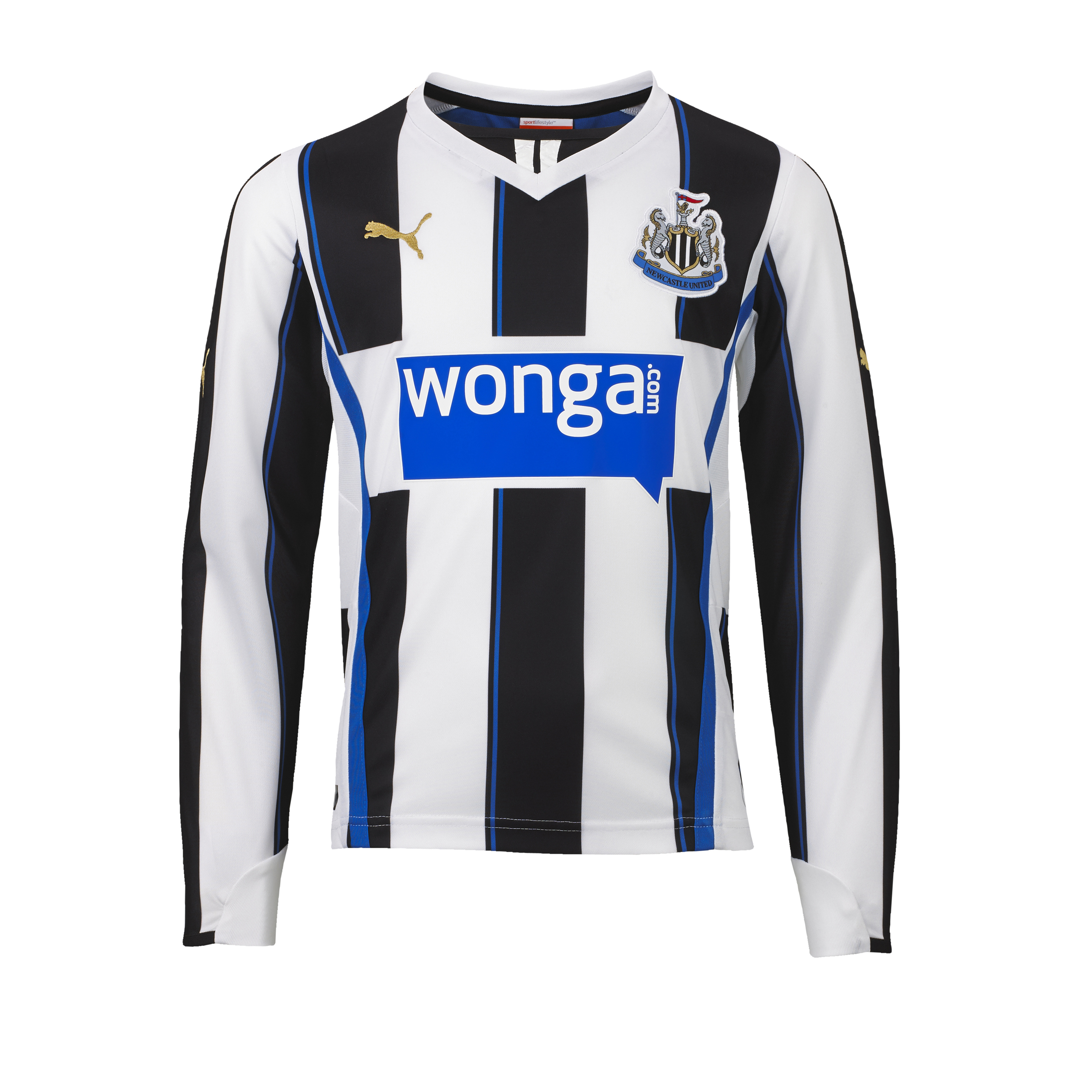 Newcastle United Home Shirt 2013/14 - Long Sleeve - Kids