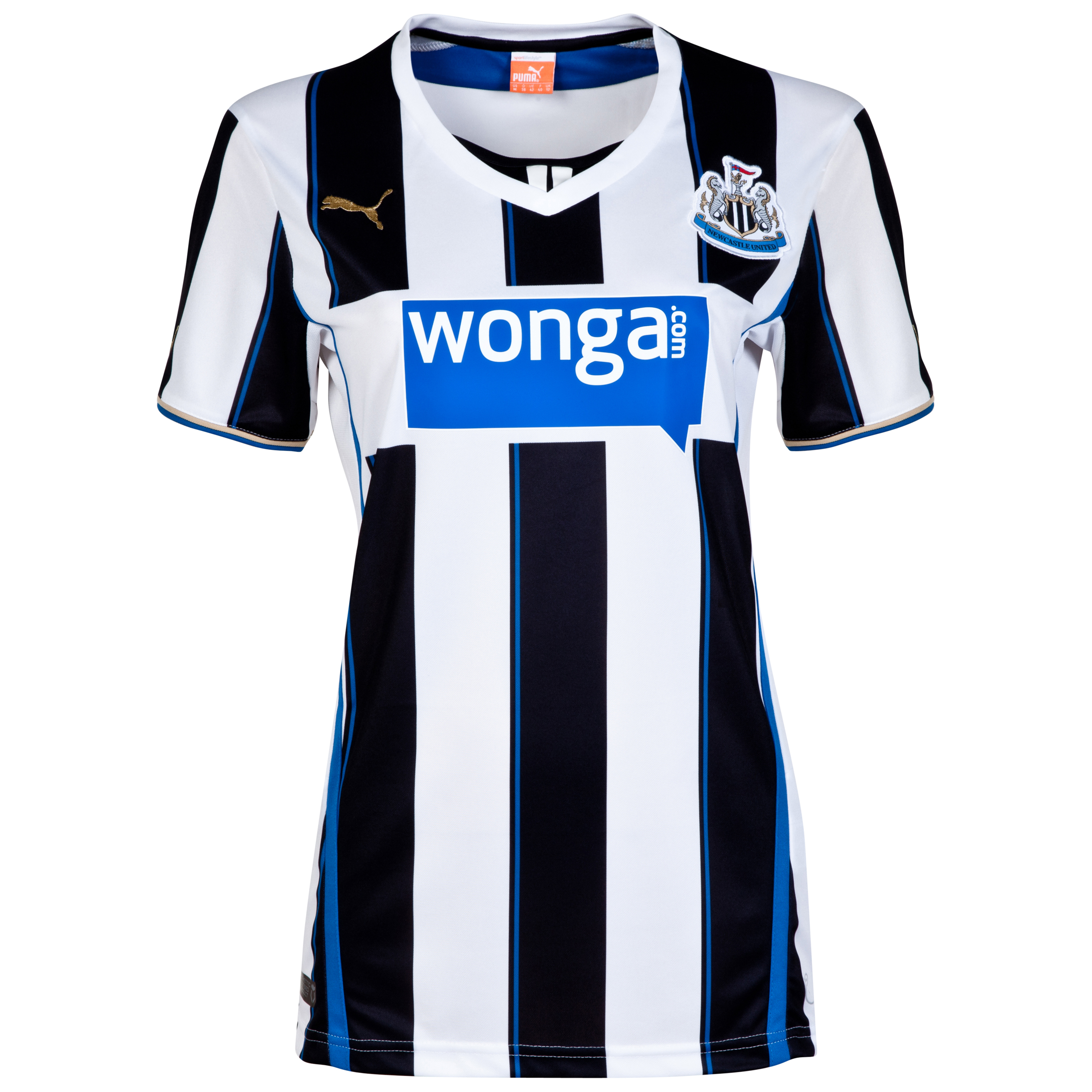 Newcastle United Home Shirt 2013/14- Womens
