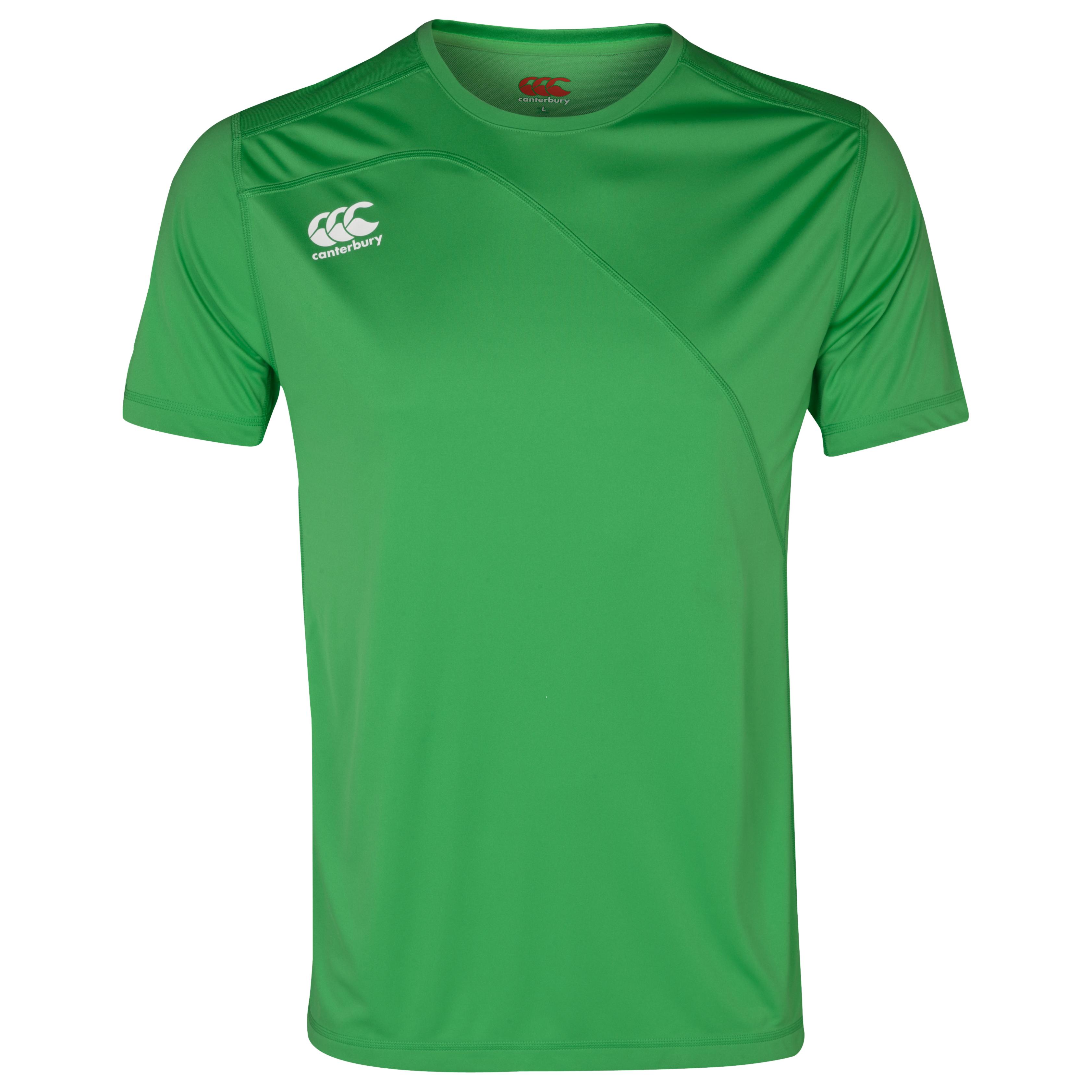 Canterbury Mercury Tcr Pro T-Shirt Green