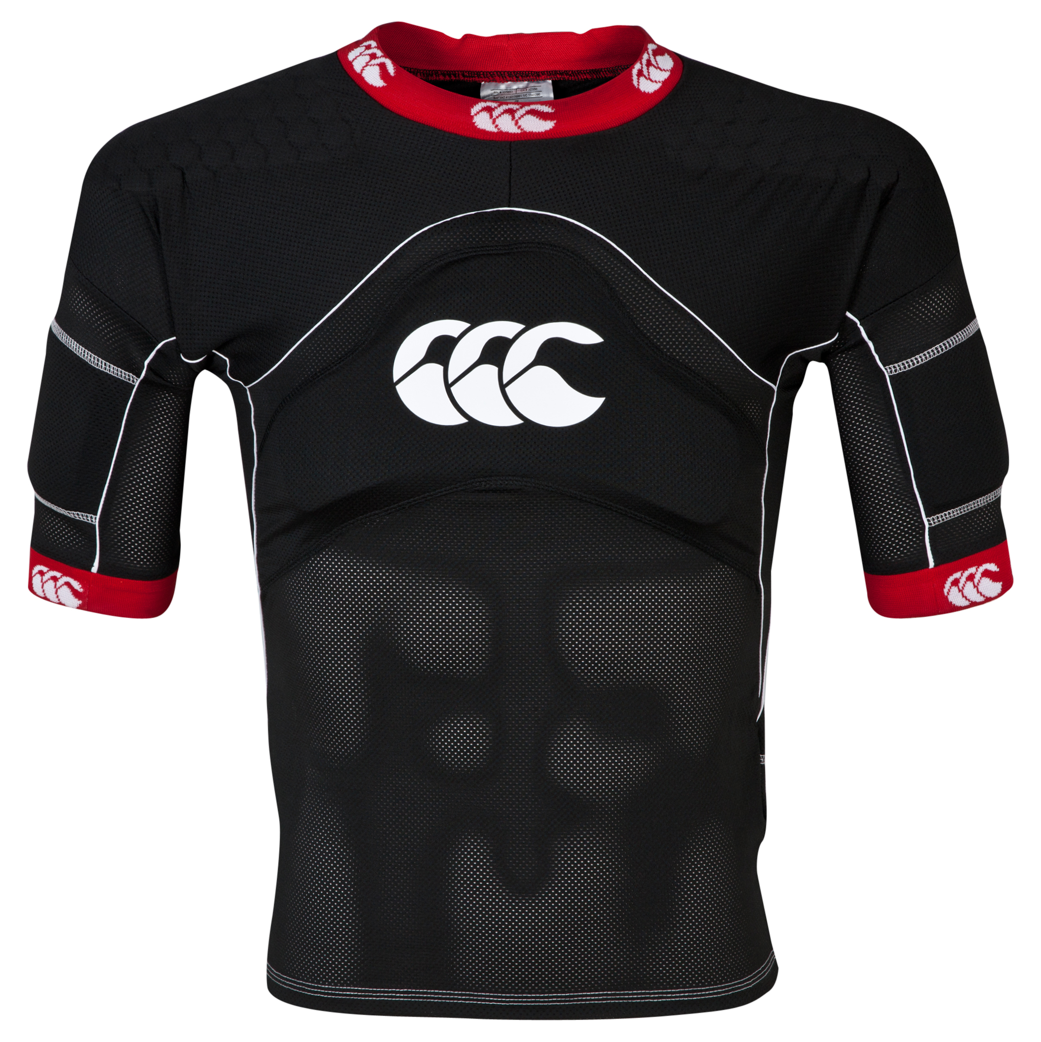 Canterbury Flexitop Plus Protective Top Black