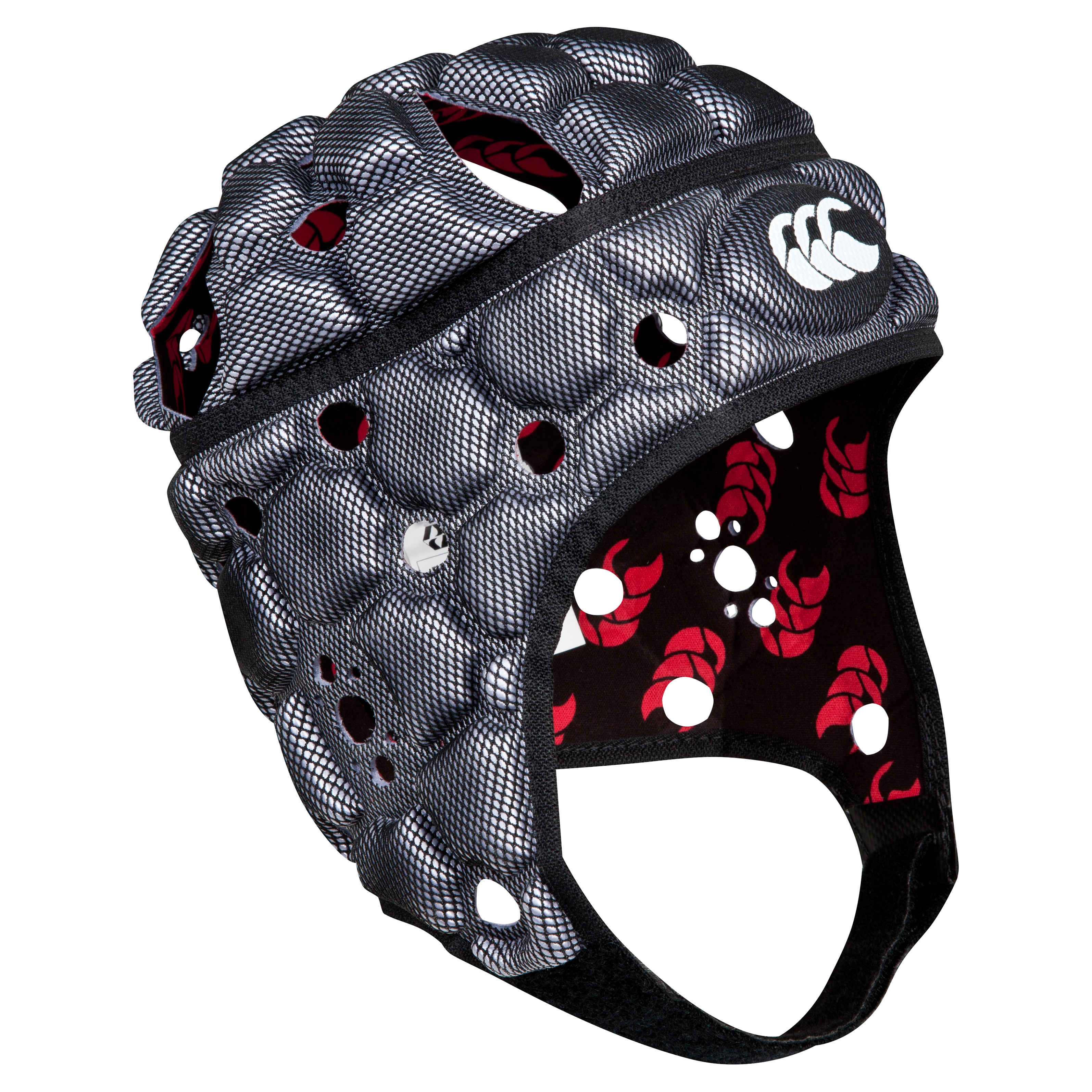 Canterbury Ventilator Headguard - Kids Silver