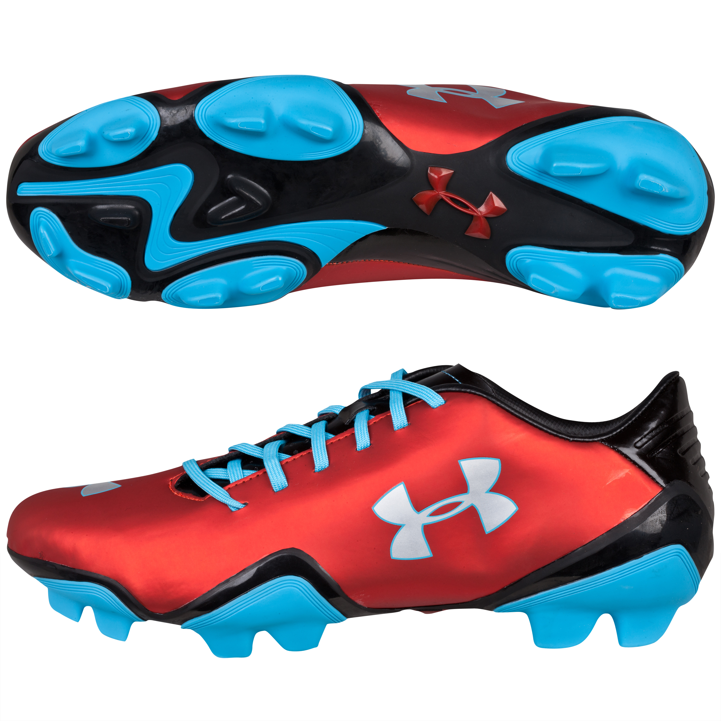 Under Armour Blur Flash III FG-Red/Blk/Blue Red