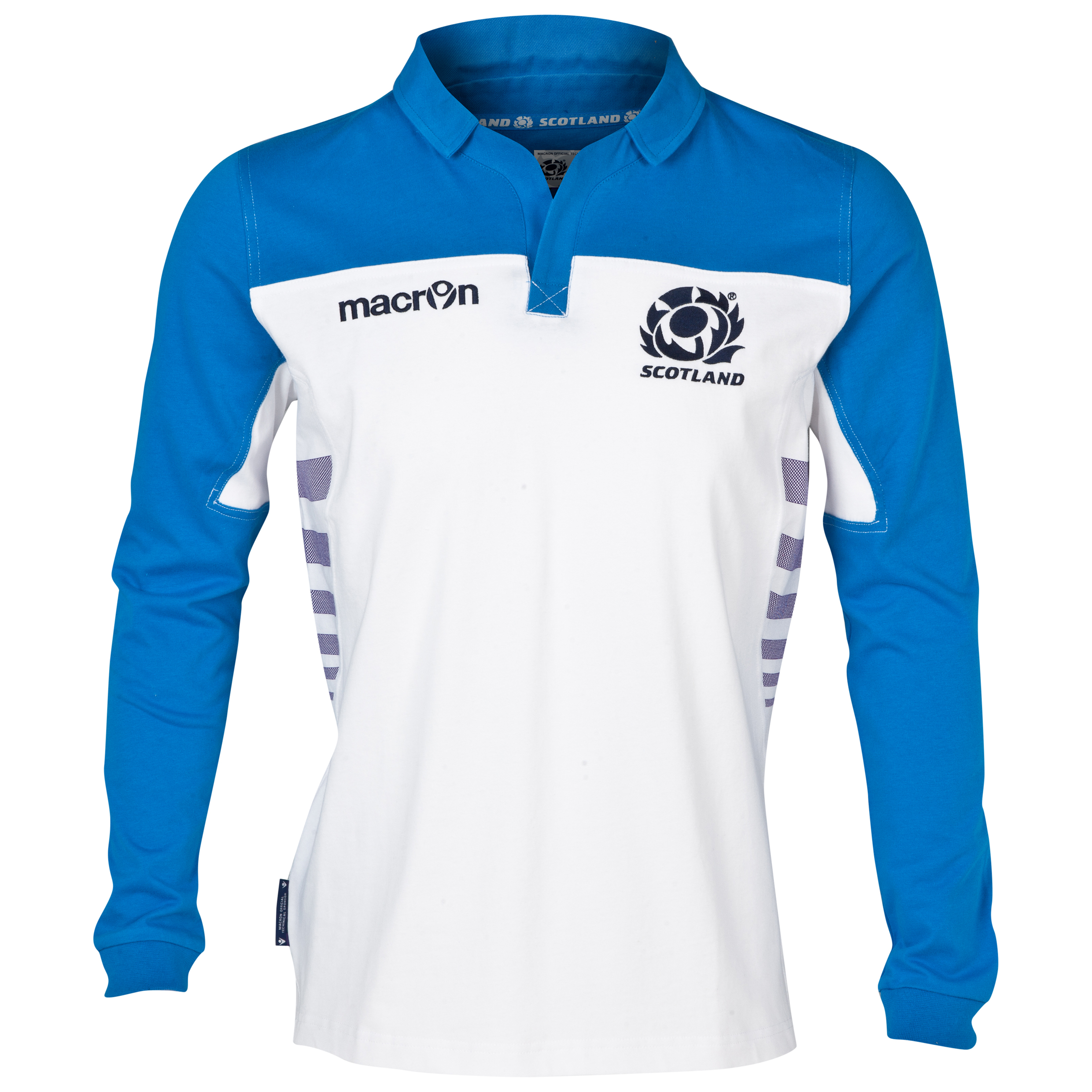 Scotland Rugby Cotton Away Shirt 2013/14 - Long Sleeved