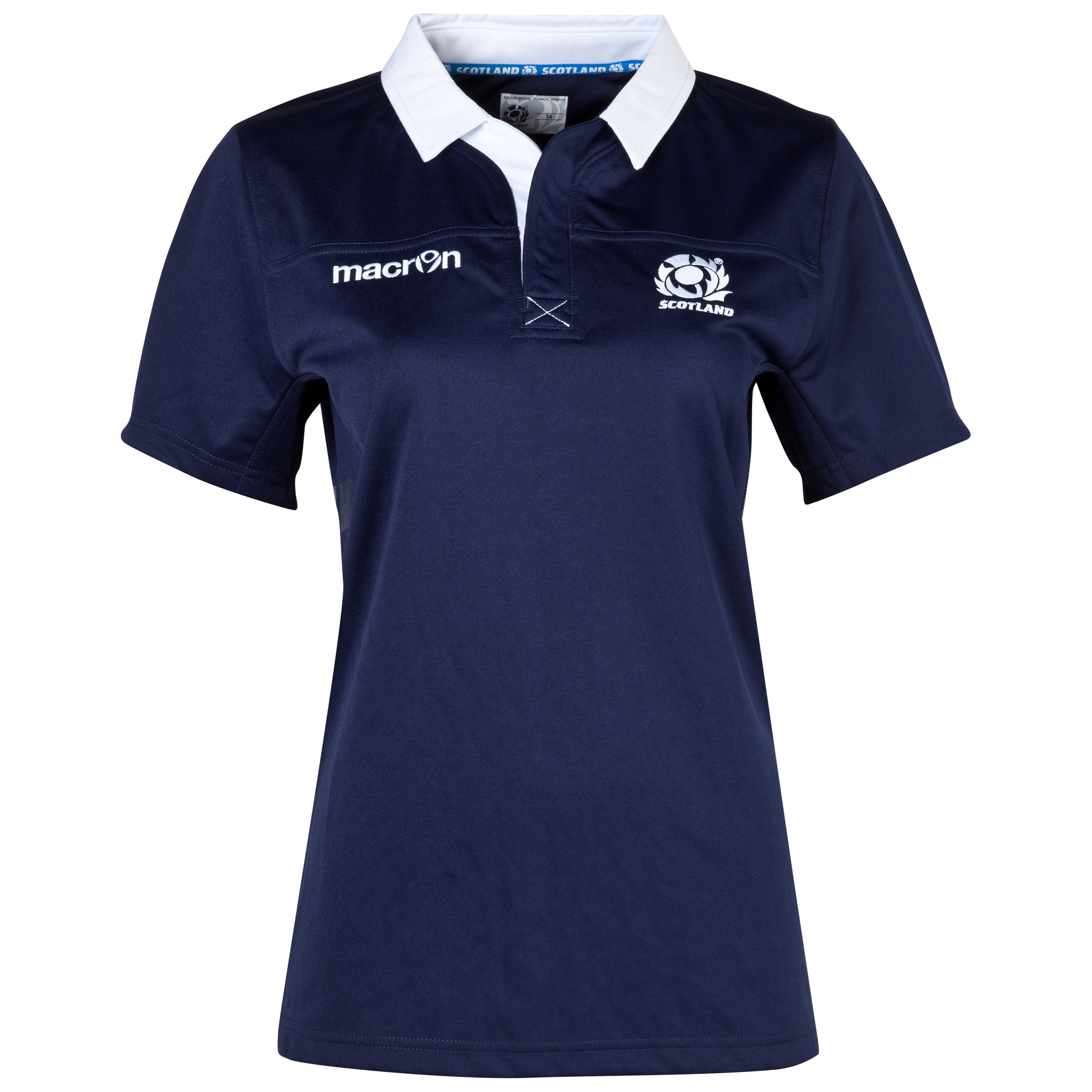 Scotland Rugby Home Shirt 2013/15 - Womens