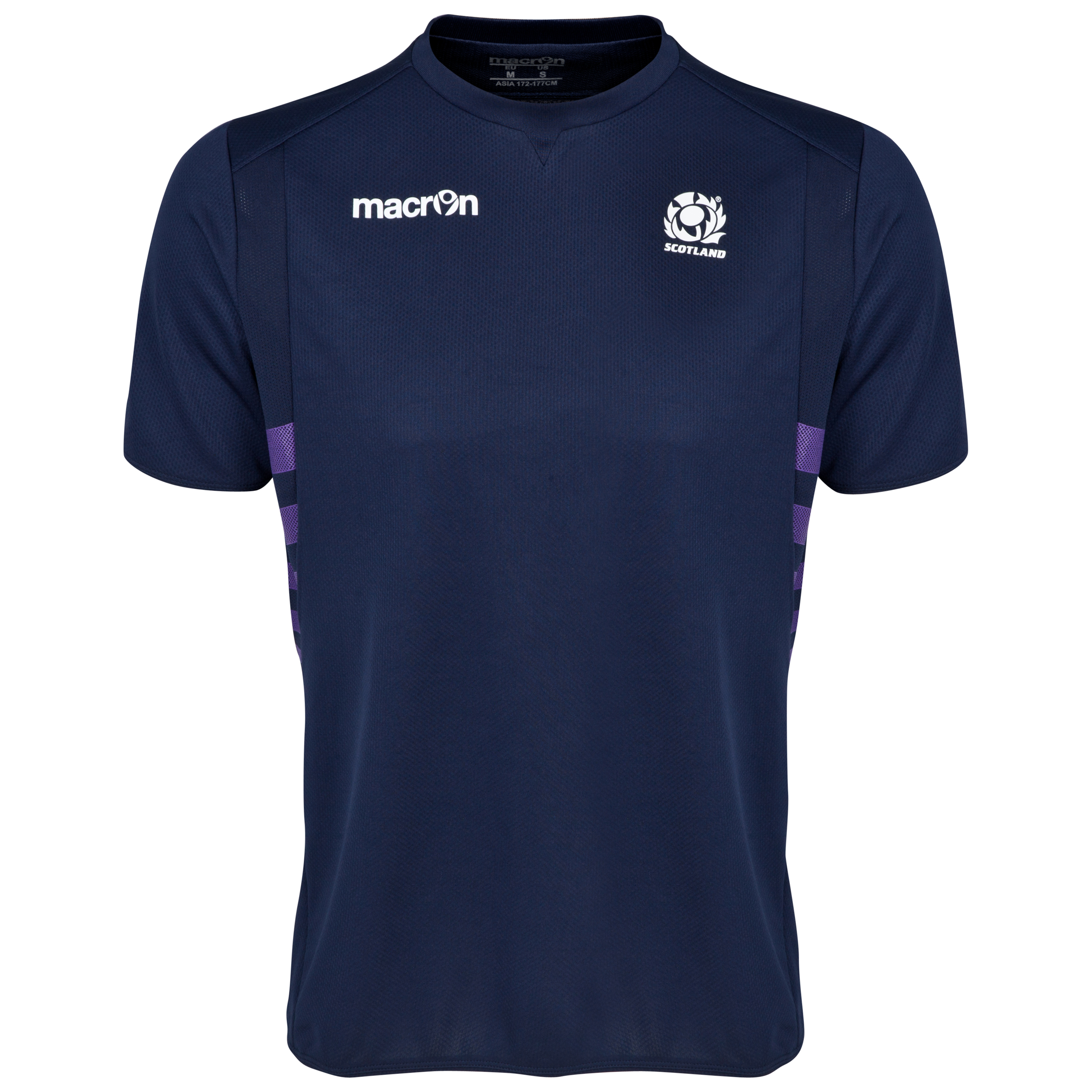 Scotland Rugby Training T-Shirt Navy