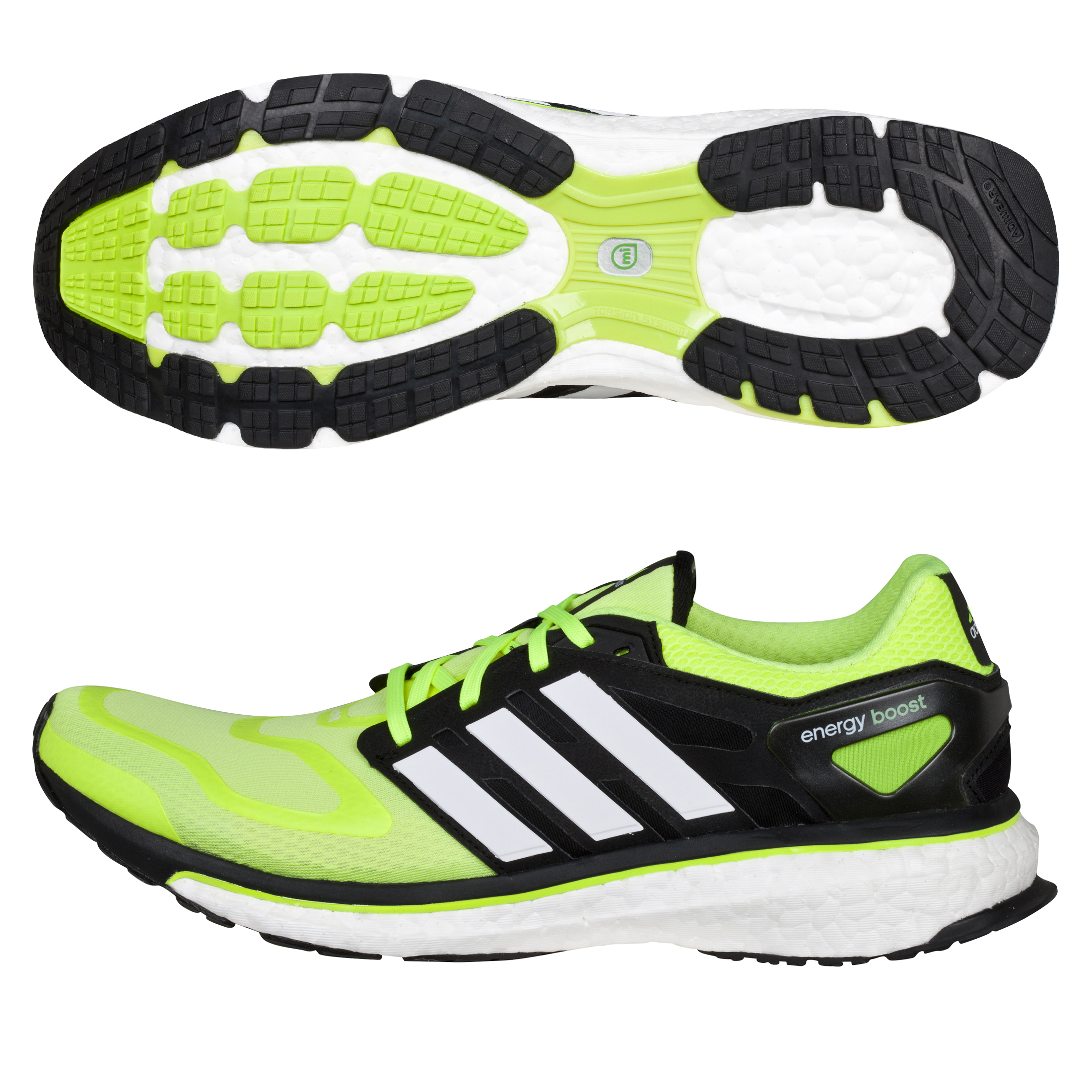 Adidas Energy Boost - Electricity/White/Black Blue
