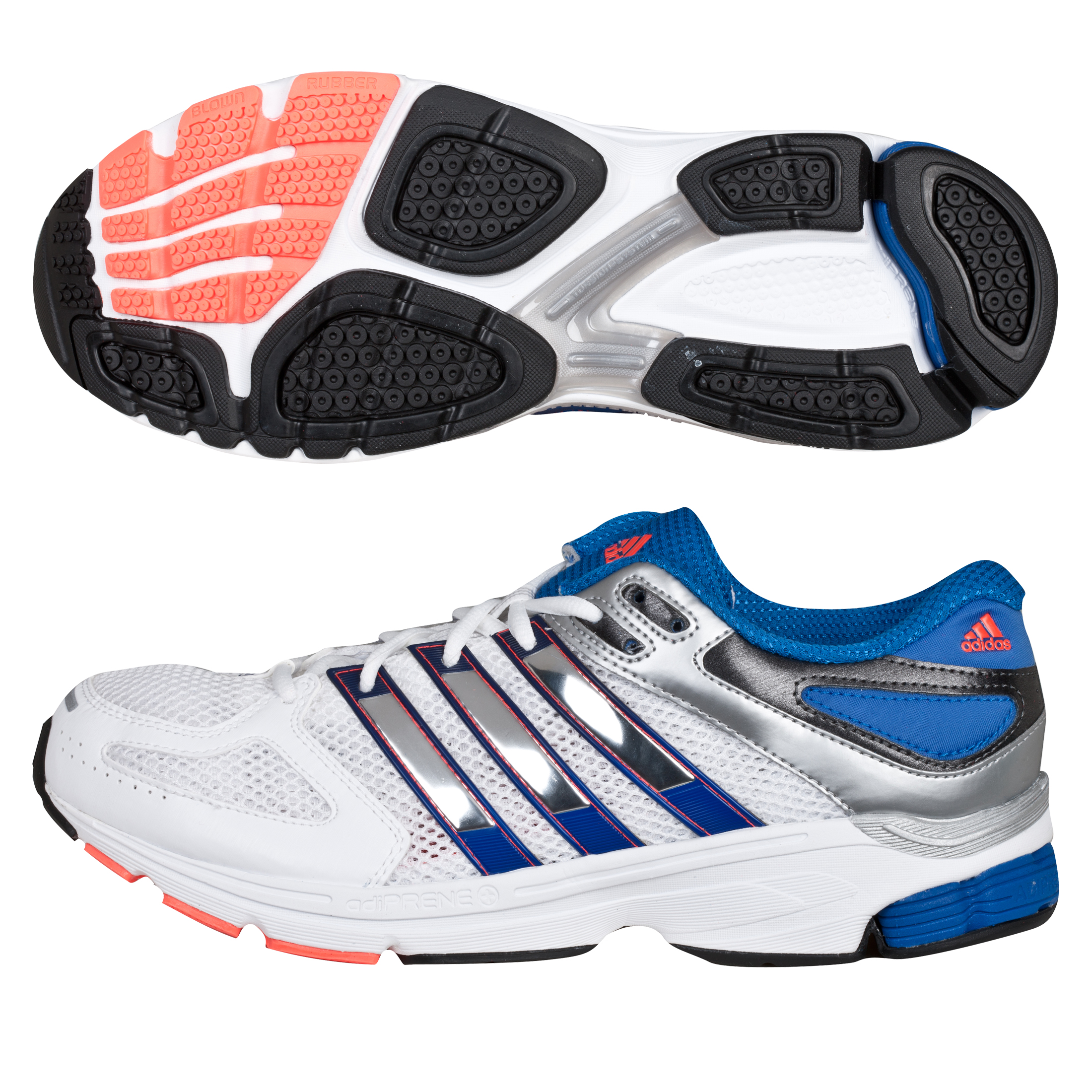 Adidas Questar Stability - White/Met Silver/Infrared White
