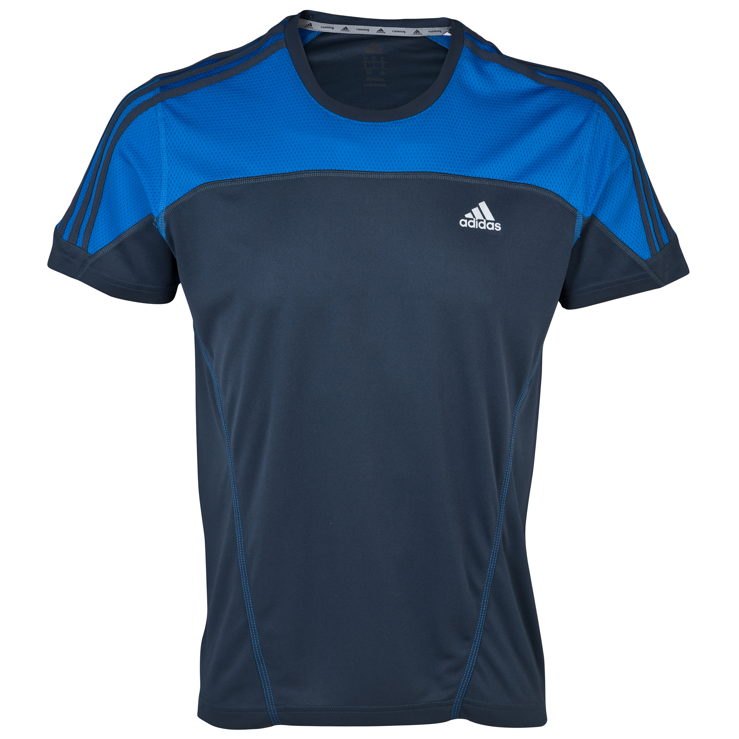 Adidas Response SS Tee - Nigh Shade/Blue Beauty Blue