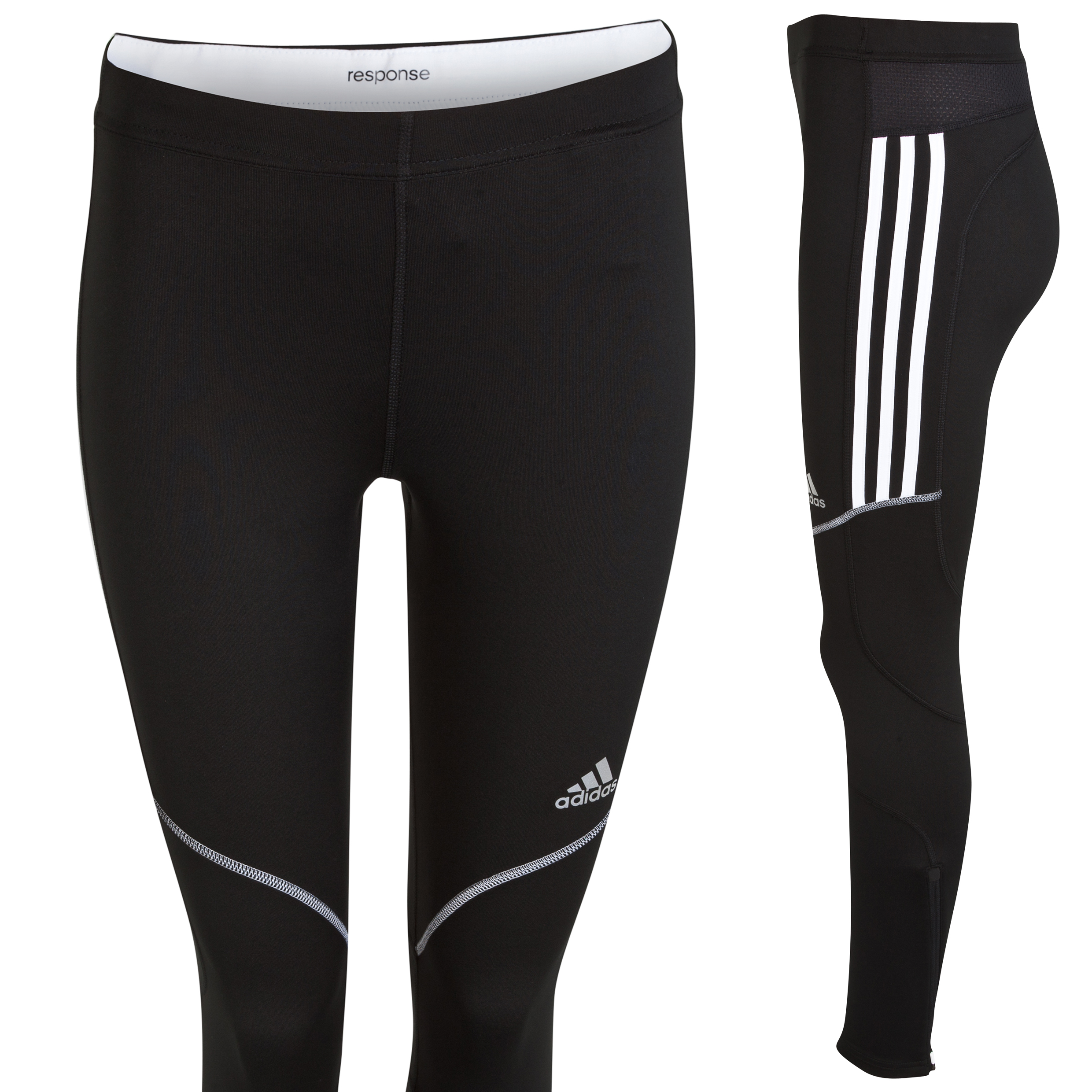 Adidas Response Tight - Black/White Black