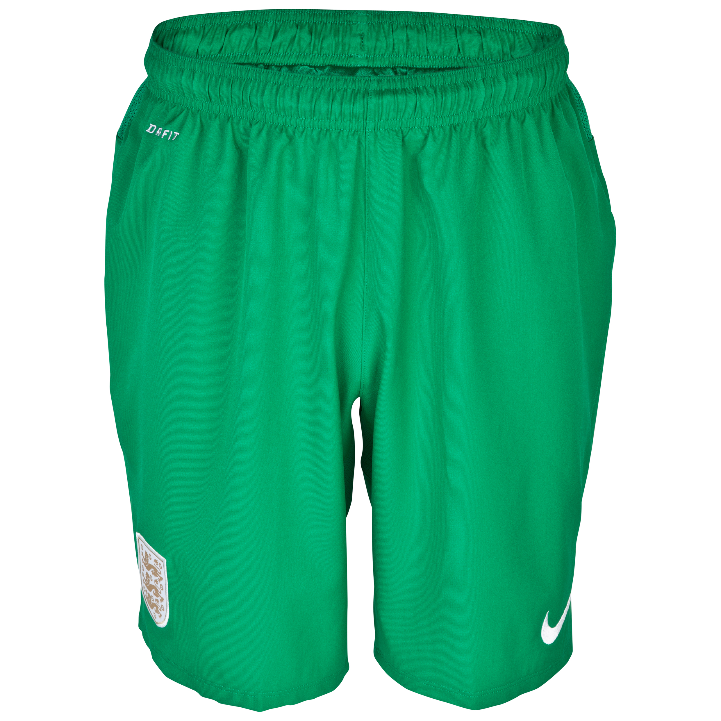 England Home Goalkeeper Short 2013/14 Green
