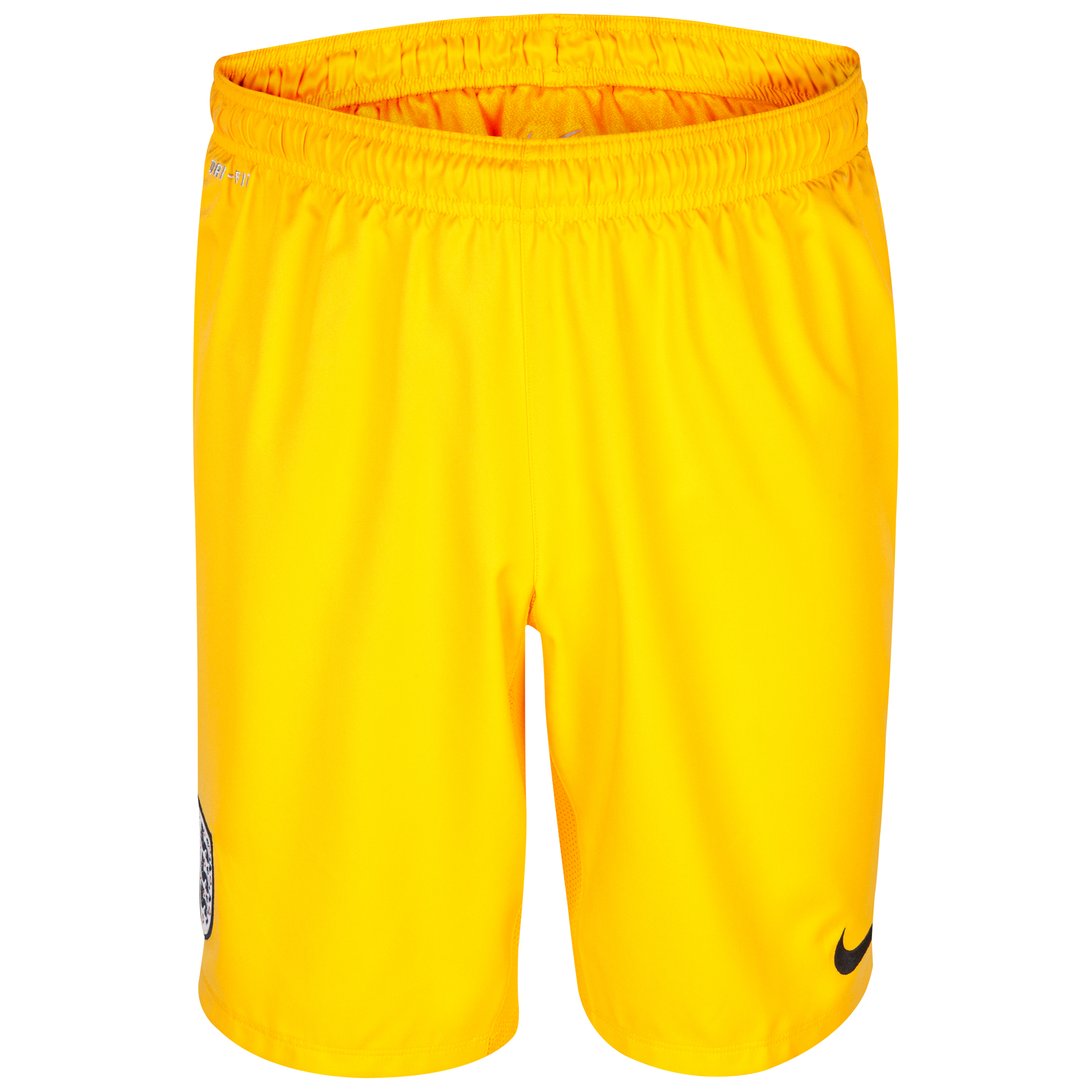 England Away Goalkeeper Short 2013/14 Gold