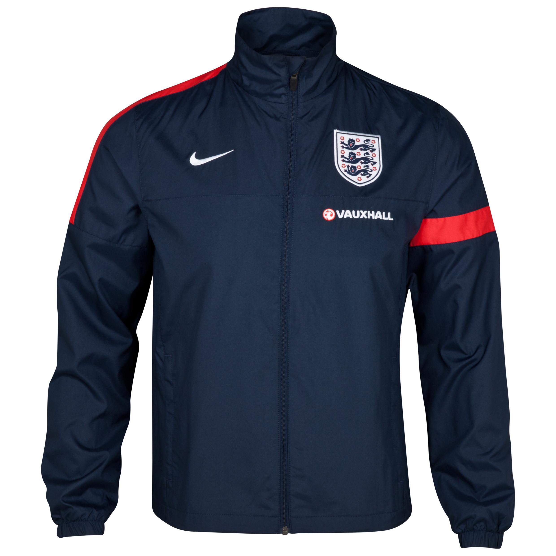 England Woven Sideline Jacket - Mens Navy