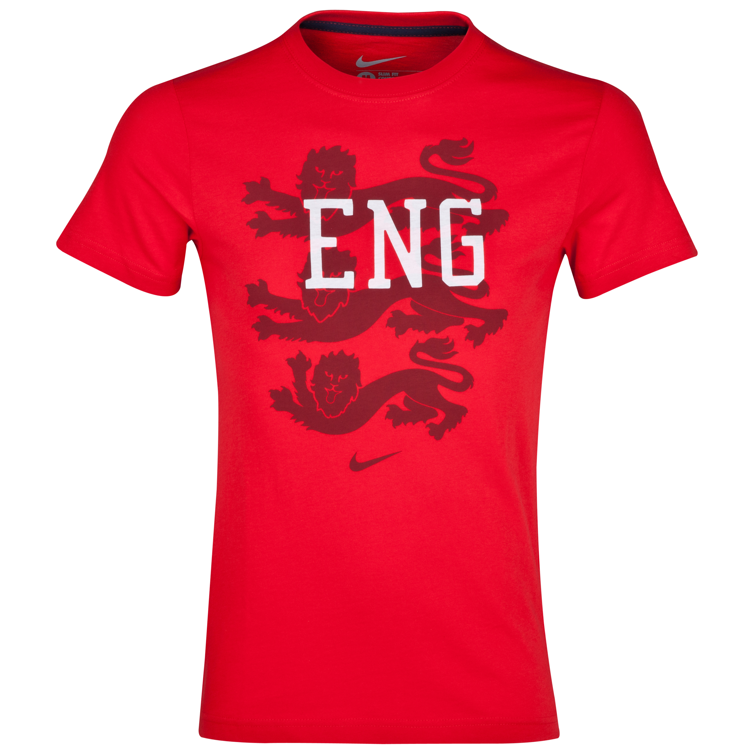 England Core Plus T-Shirt - Mens Red