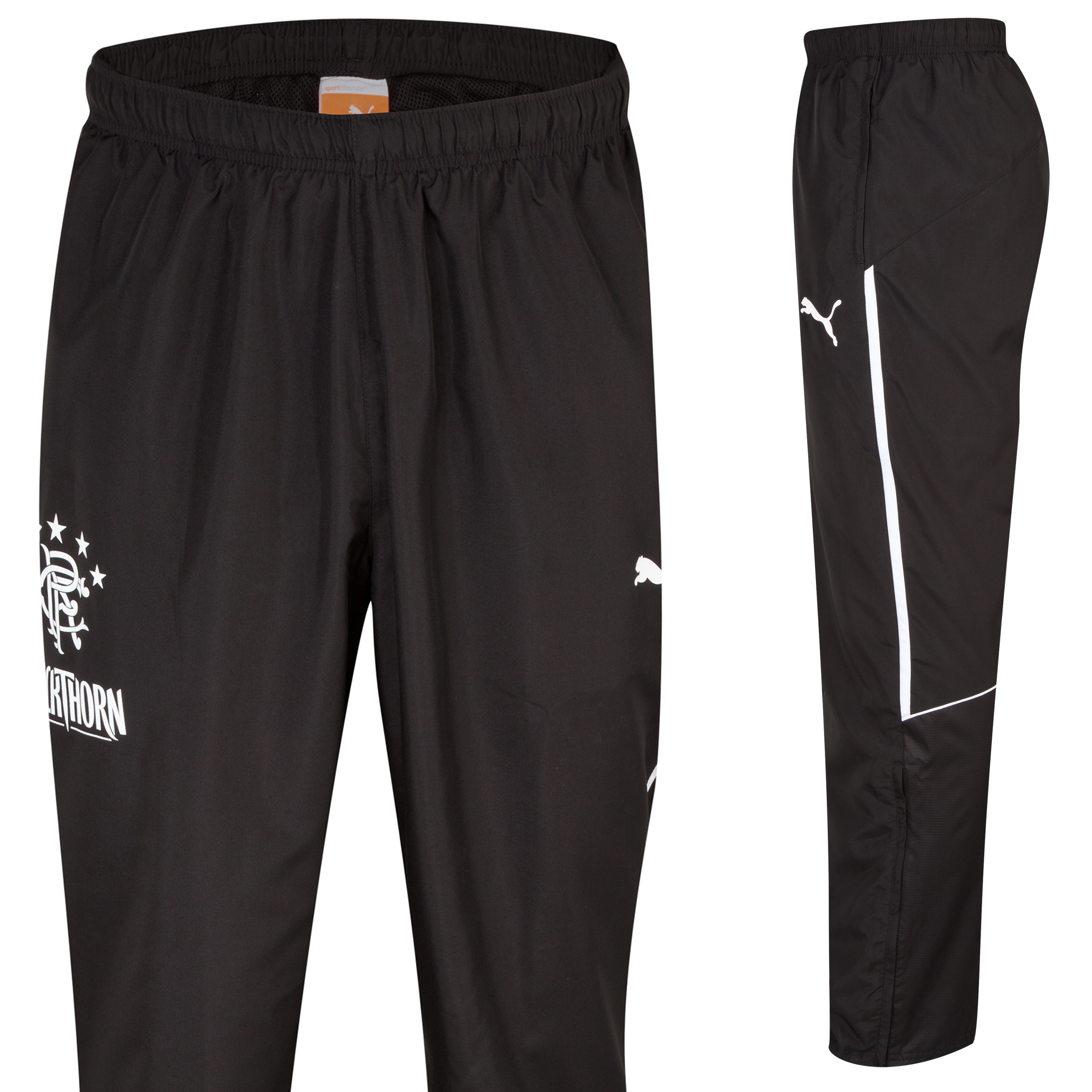 Glasgow Rangers King Woven Pants - Black Black