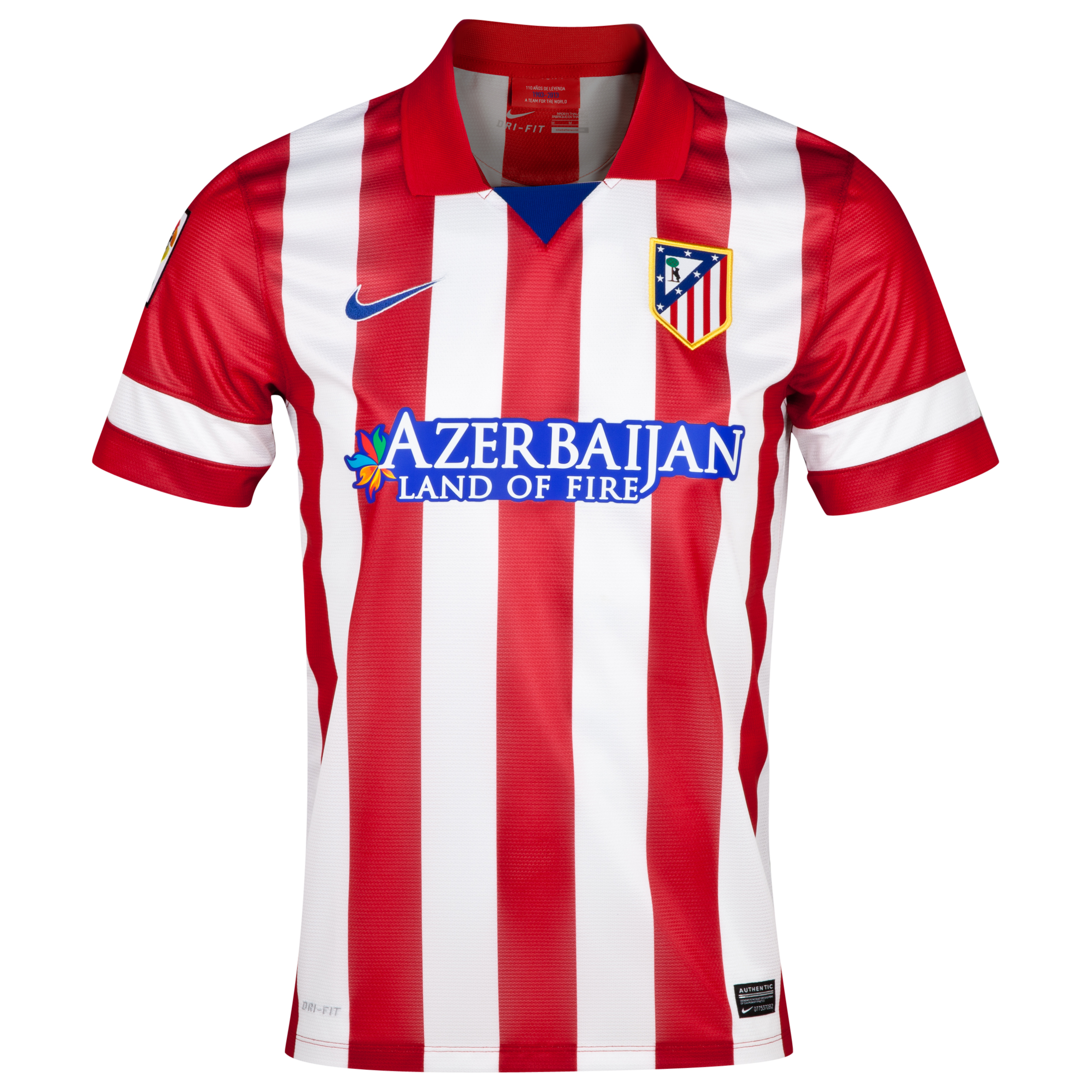 Atletico Madrid Home Shirt 2013/14