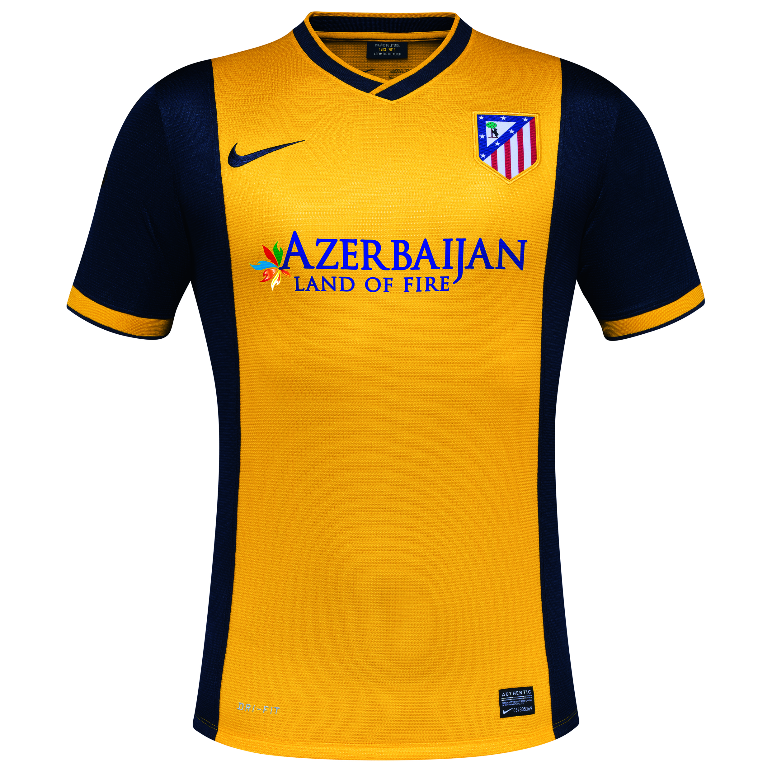Atletico Madrid Away Shirt 2013/14