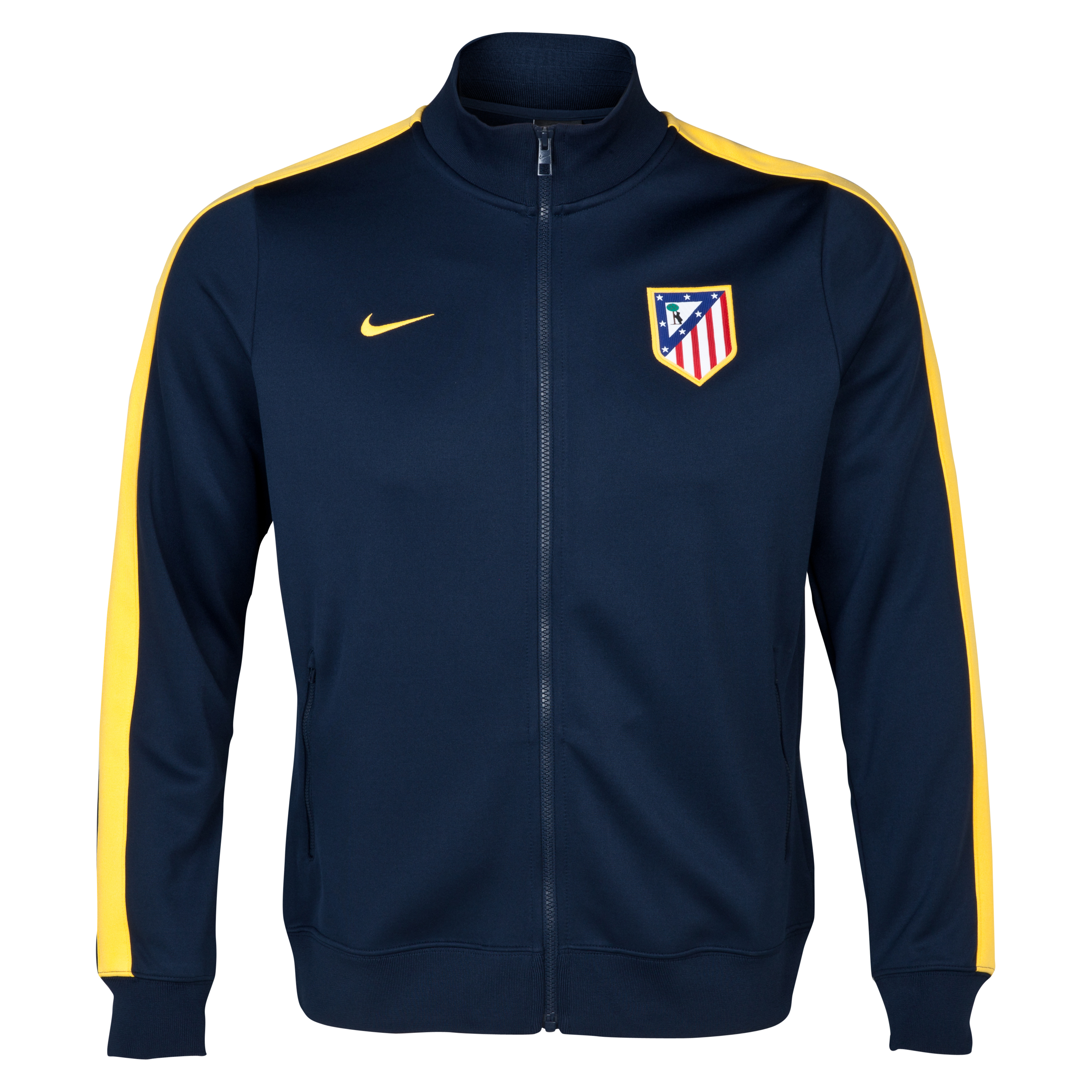Atletico Madrid Authentic N98 Jacket - Obsidian/Varstiy Maize Black