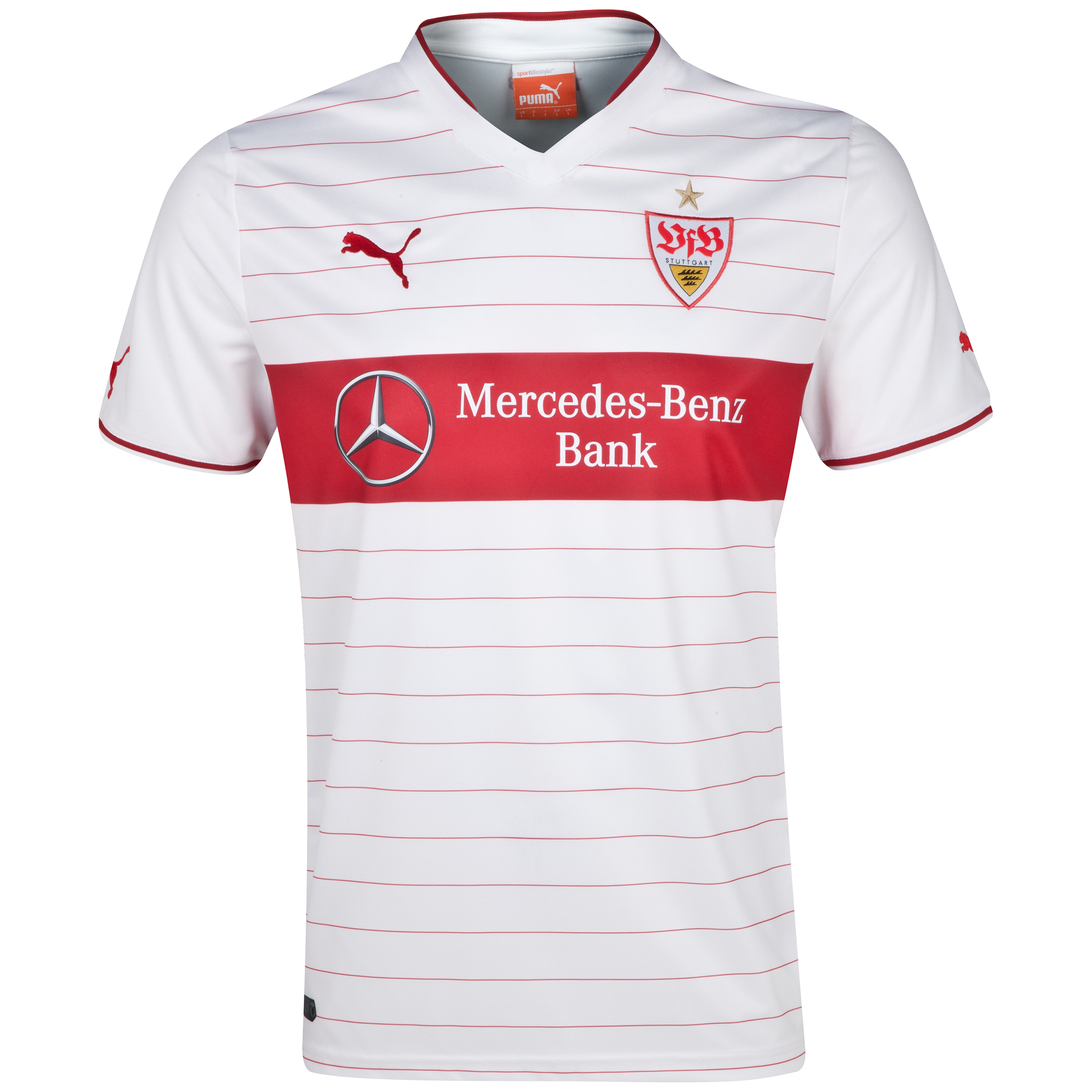 VFB Stuttgart Home Shirt 2013/14