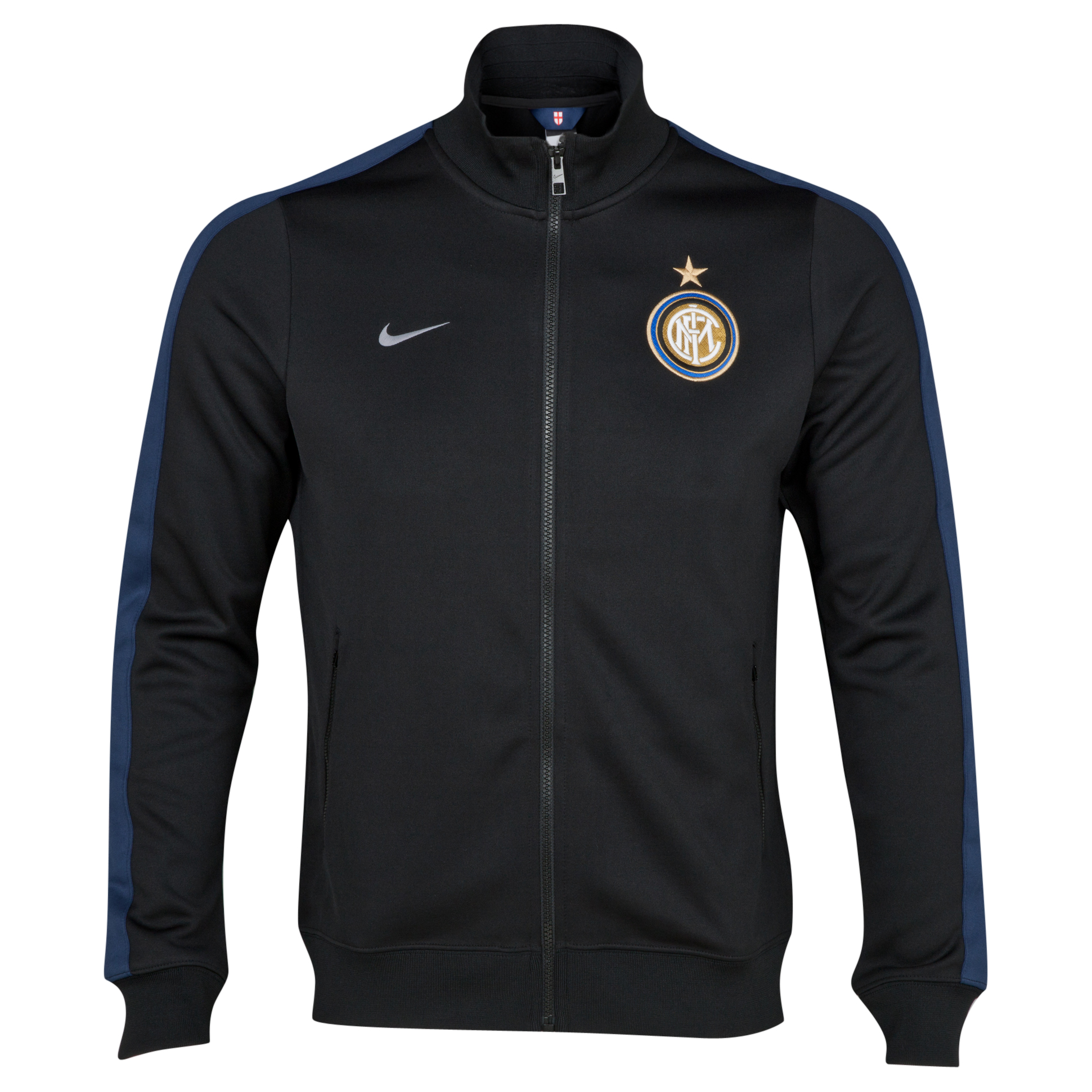 Inter Milan Authentic N98 Jacket - Black/Midnight Navy/White