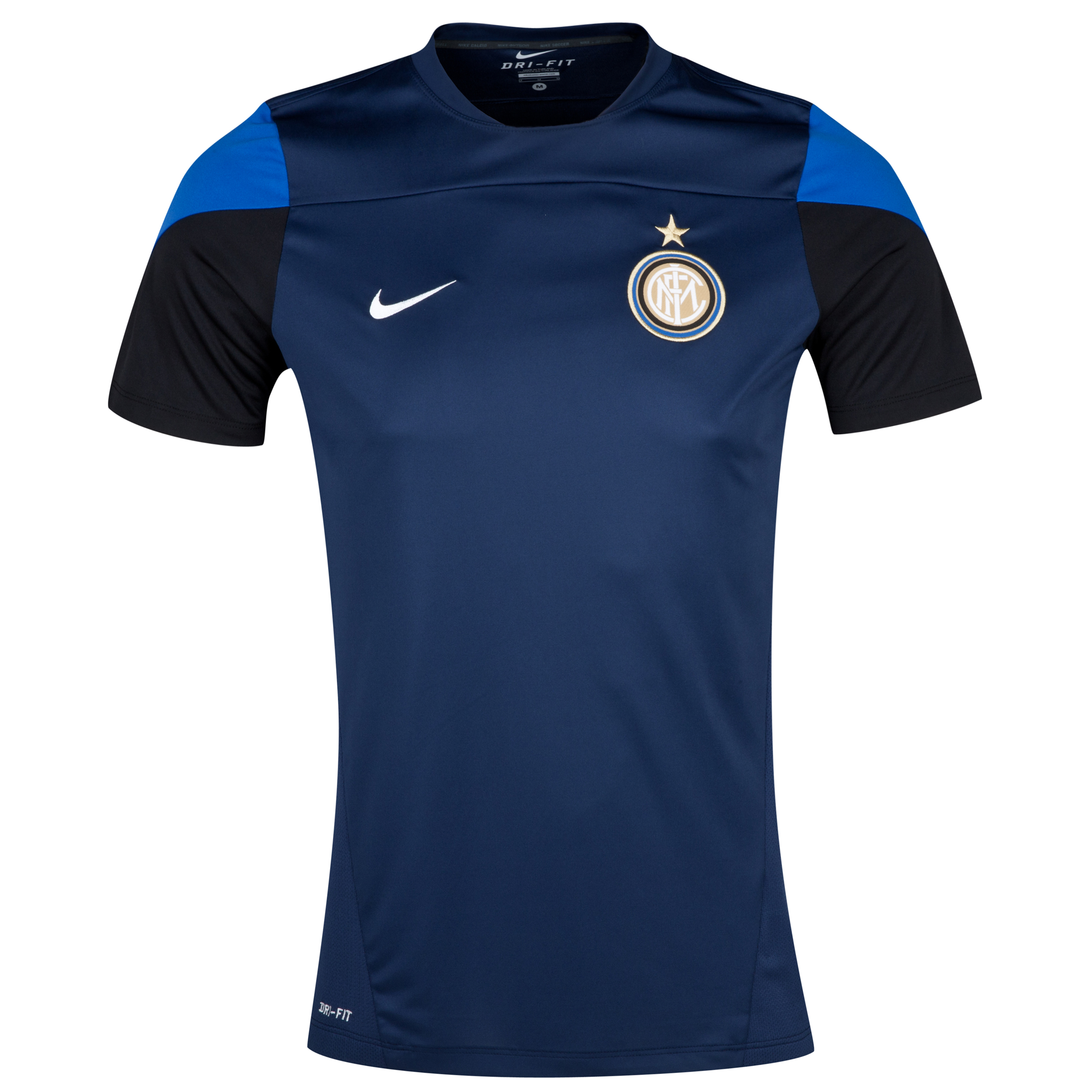 Inter Milan Squad Training Top - Midnight Navy/Game Royal/Black/White Navy