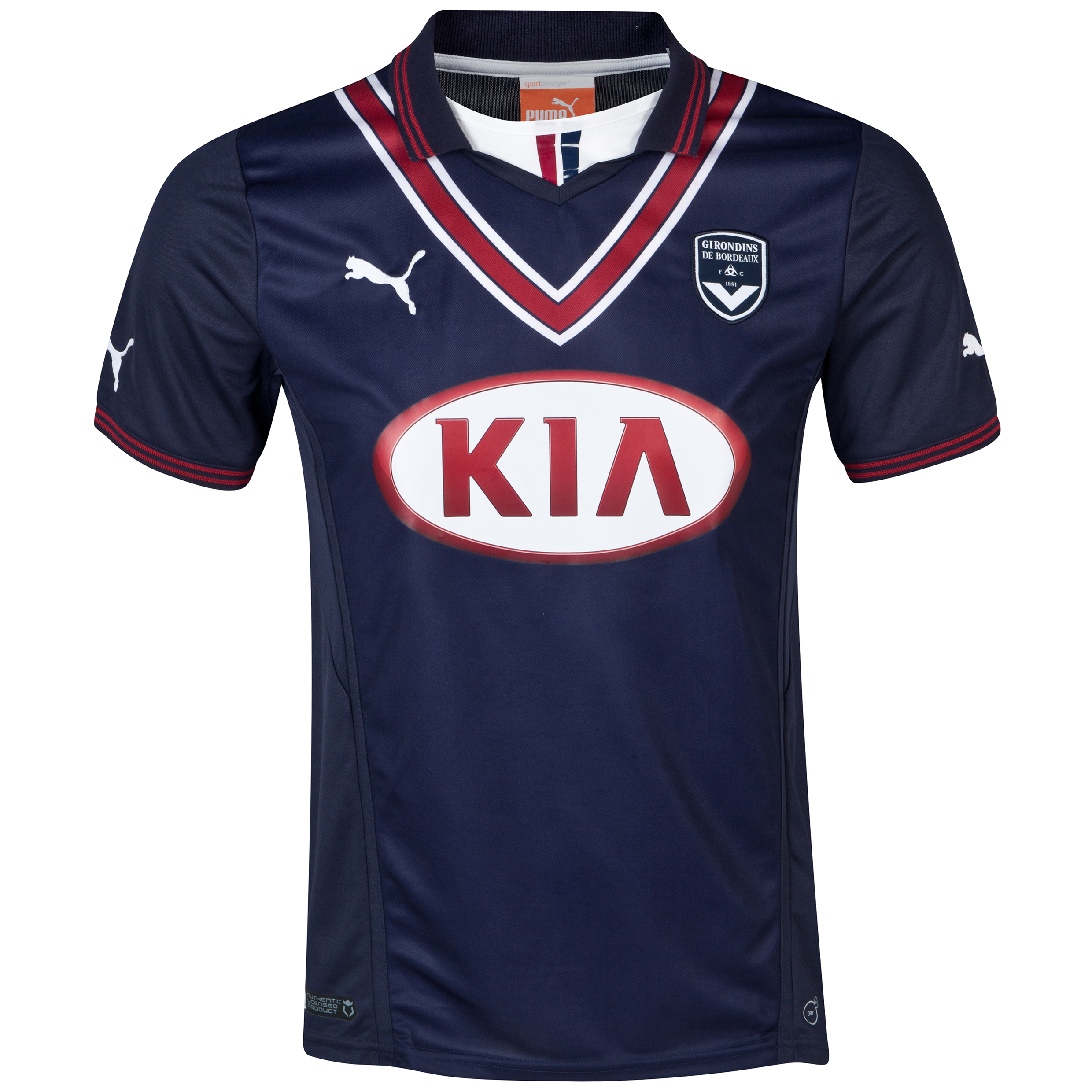 Bordeaux Home Shirt 2013/14