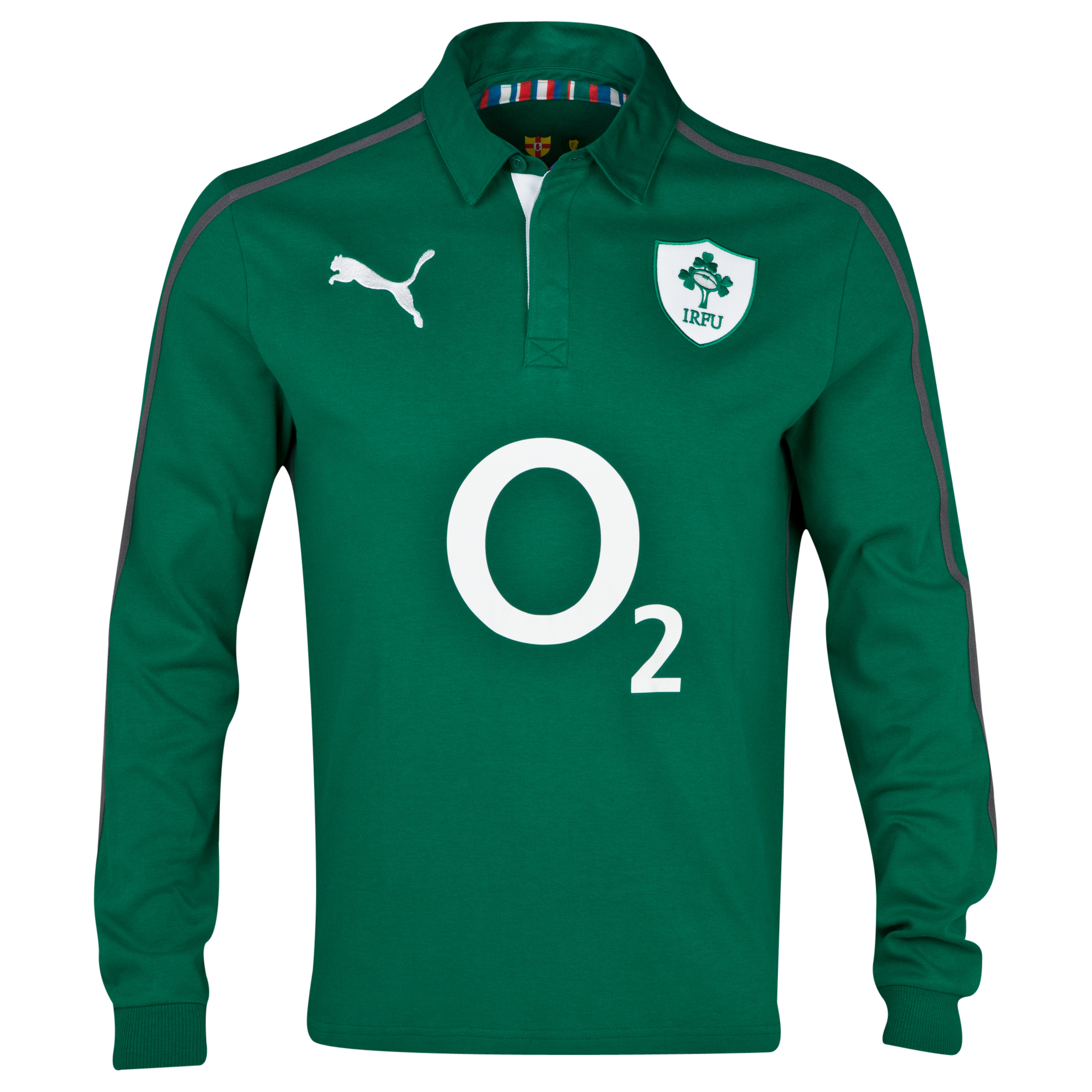 Ireland Cotton Home Shirt 2013/14 - Long Sleeve
