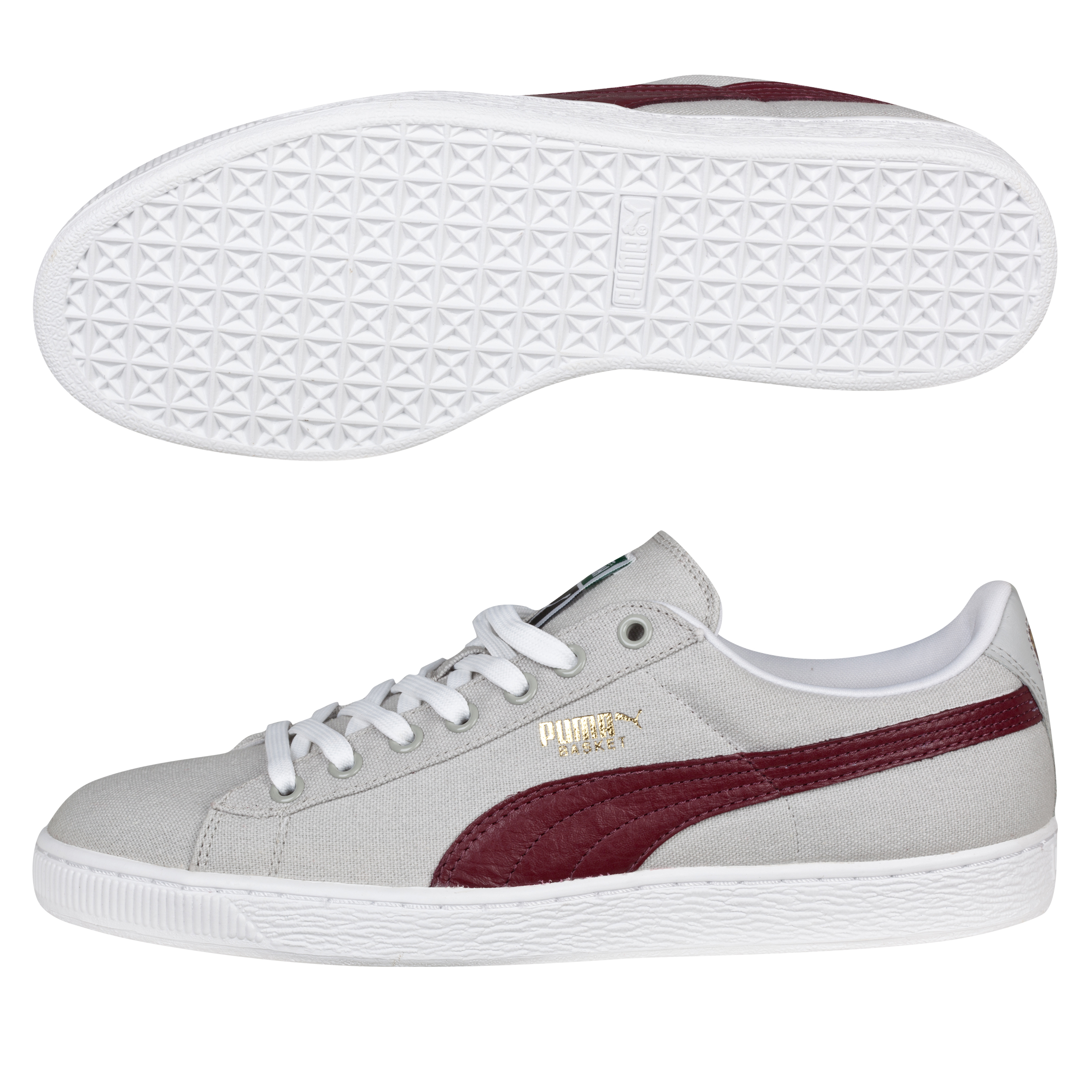 Puma Basket Classic Canvas Grey