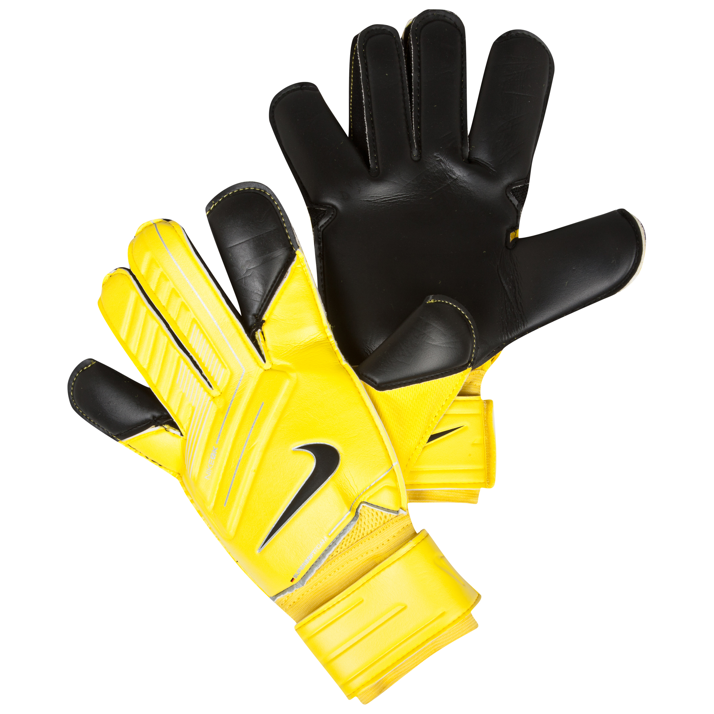 Nike Grip 3 Goalkeeper Gloves Yellow