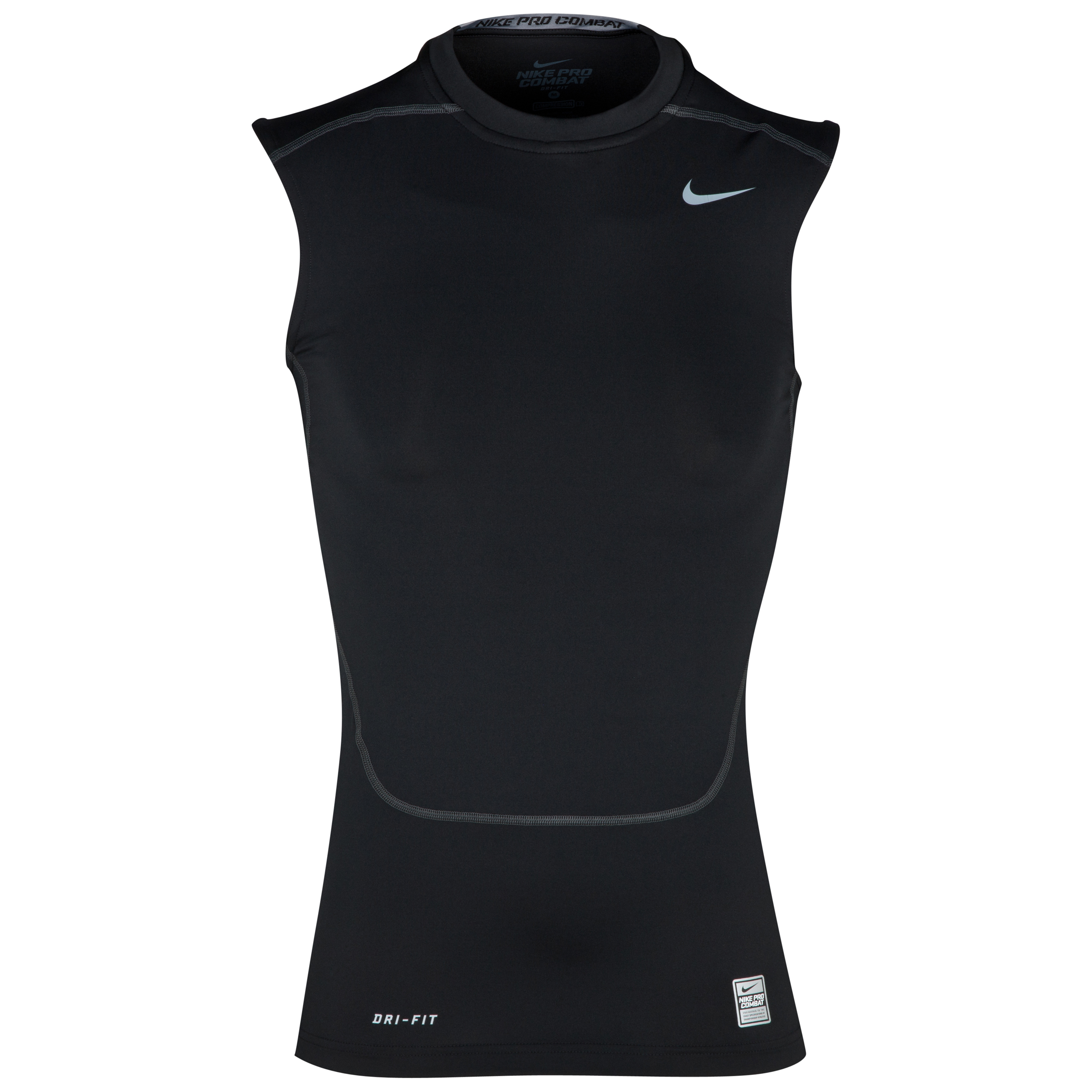 Nike Pro Combat Core Base Layer Top - Sleeveless Black