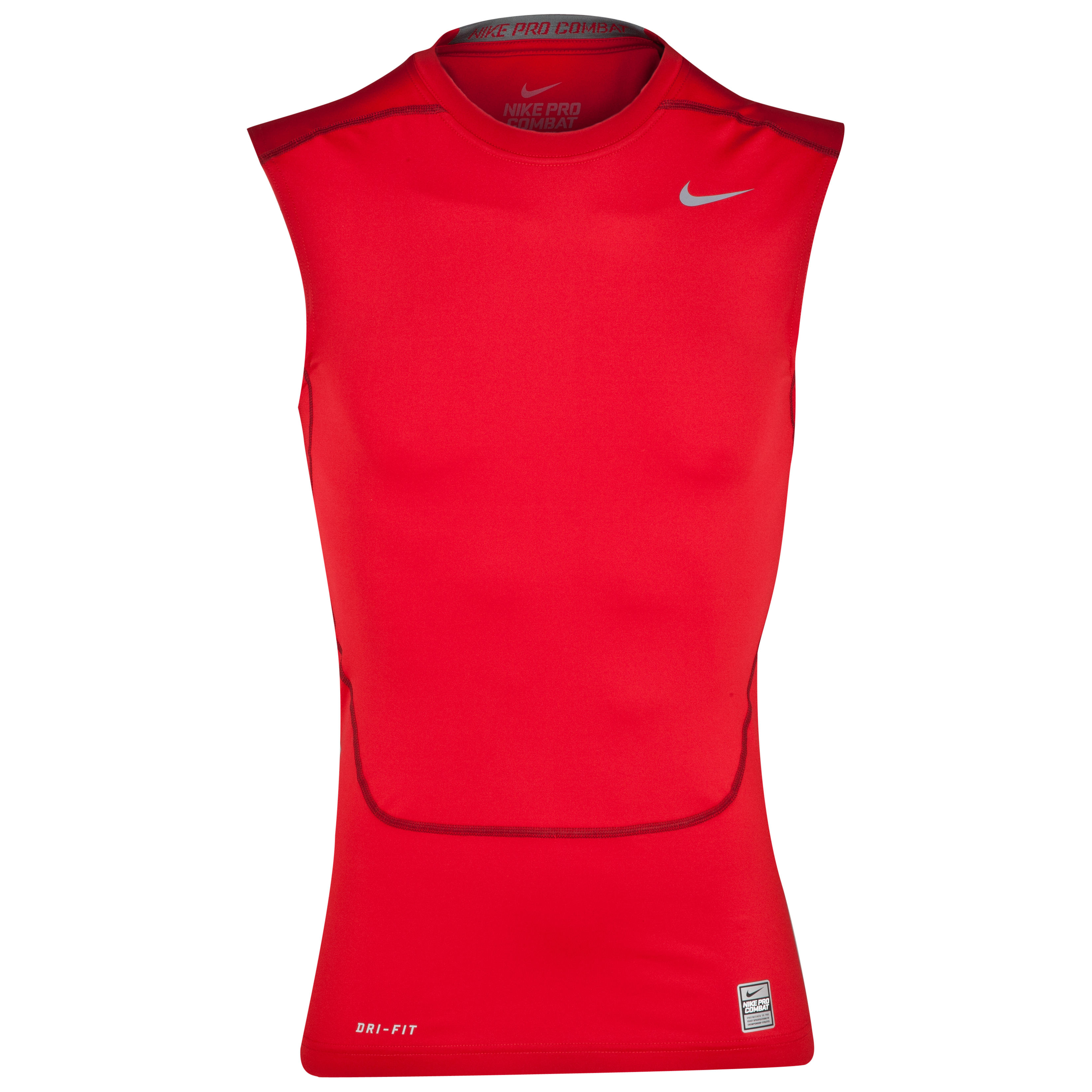 Nike Pro Combat Core Base Layer Top - Sleeveless Red