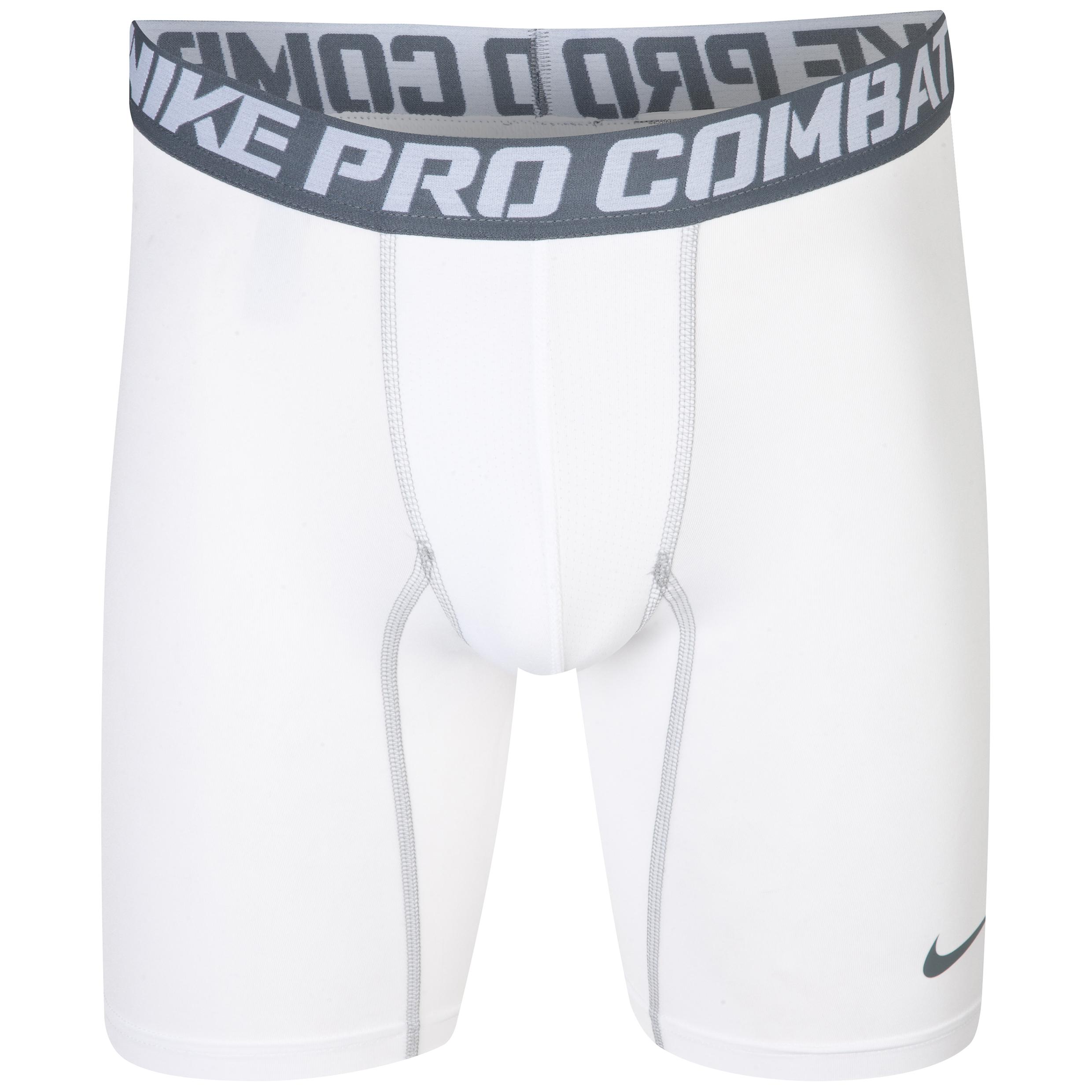Nike Pro Combat Core Base Layer Shorts White