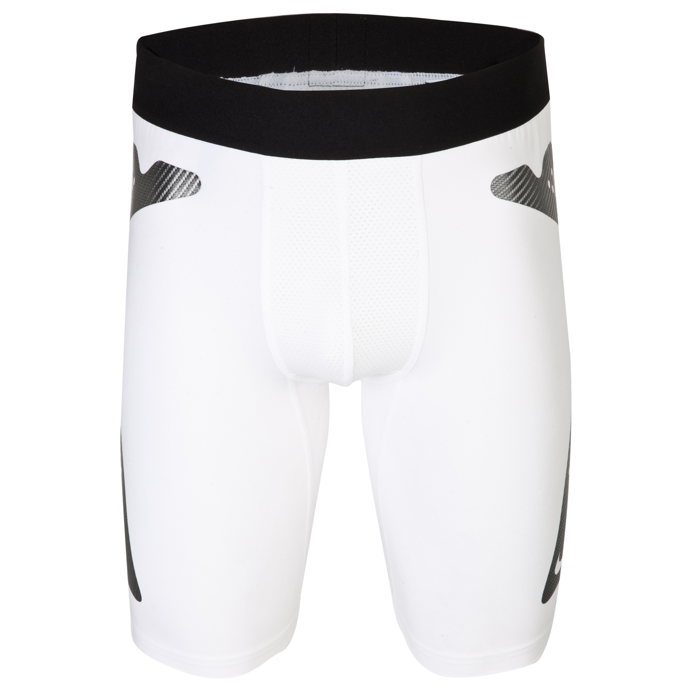 Nike Pro Combat Hyperstrong Slider Base Layer Short White
