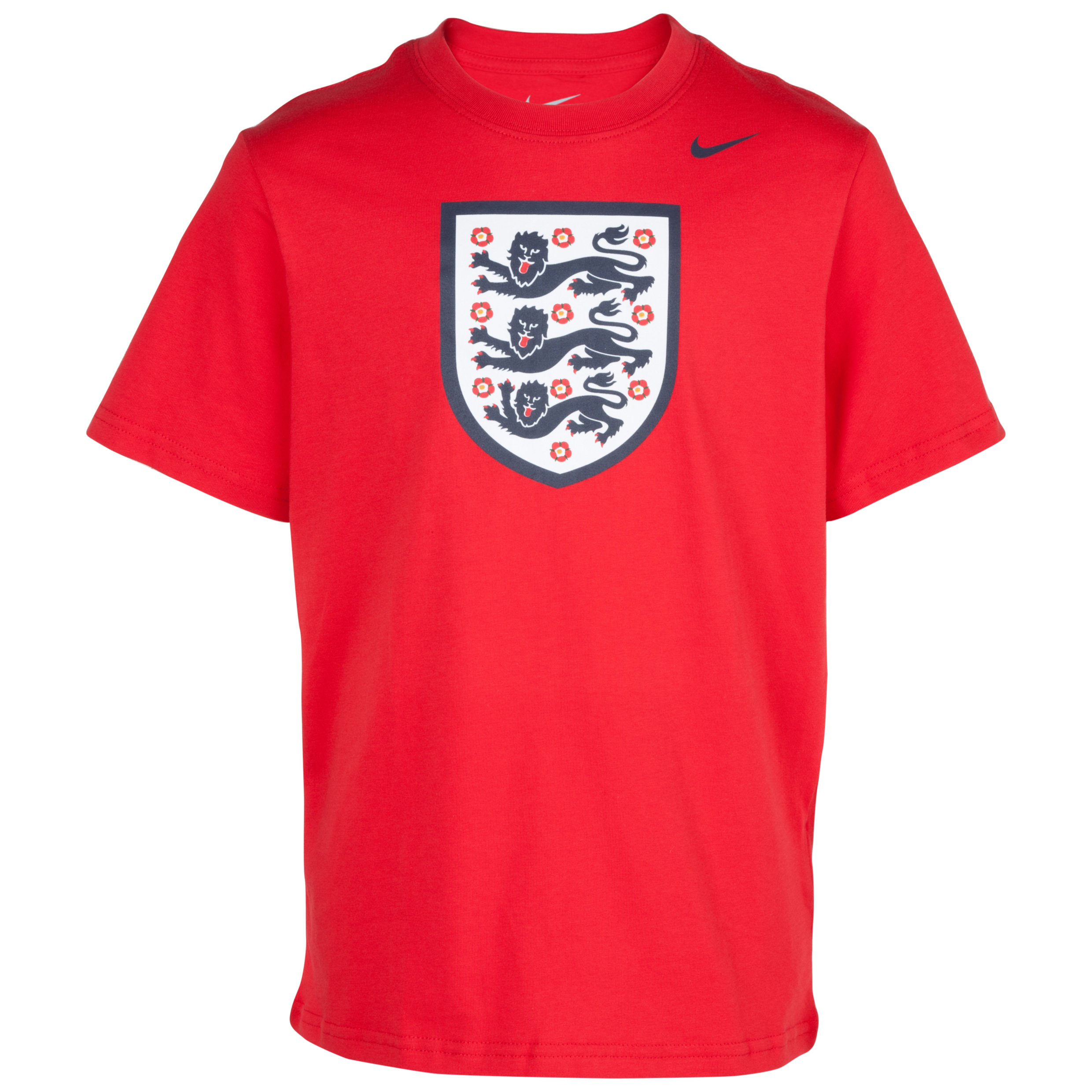 England Core Crest T-Shirt - Kids Red