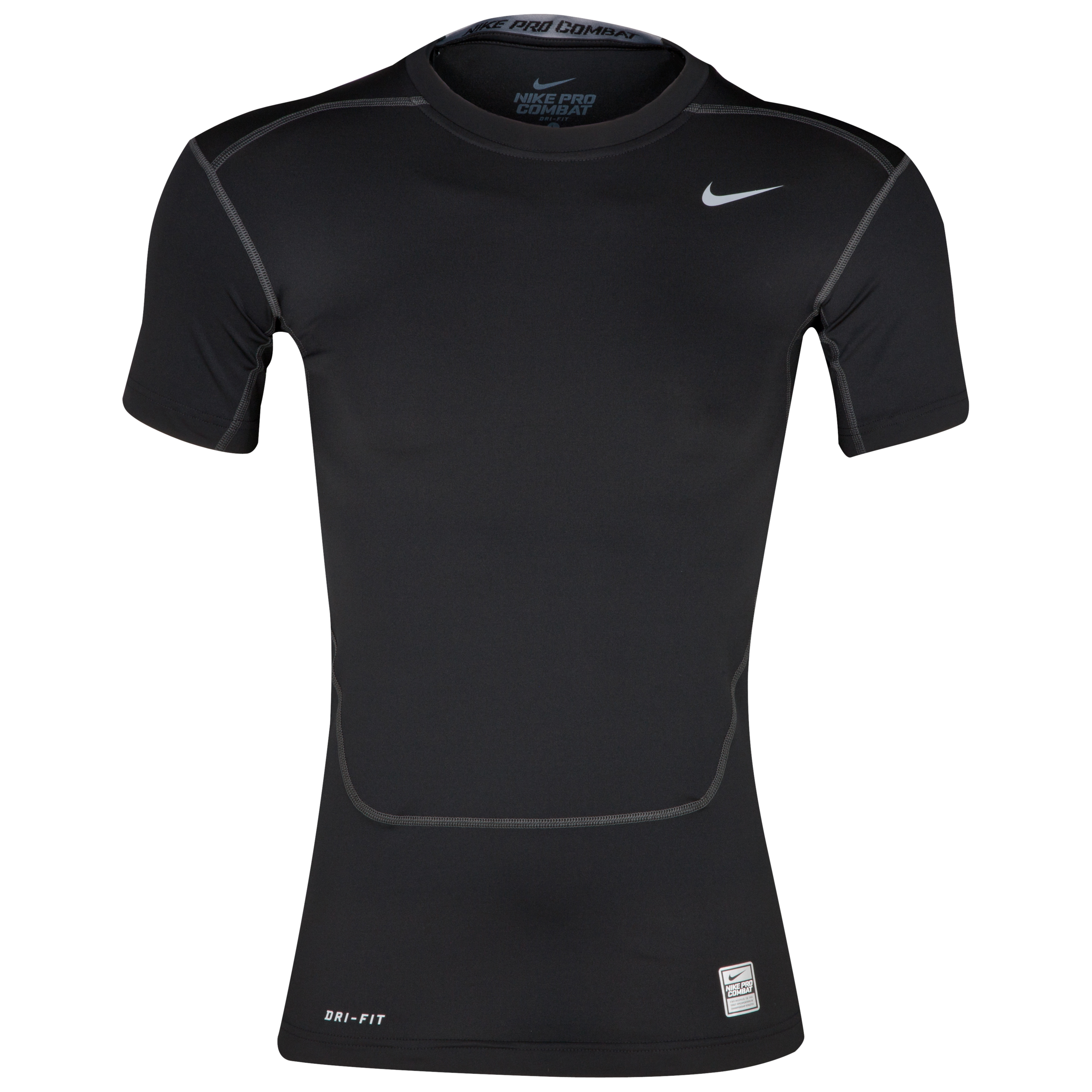 Nike Pro Combat Core Base Layer Top - Kids Black
