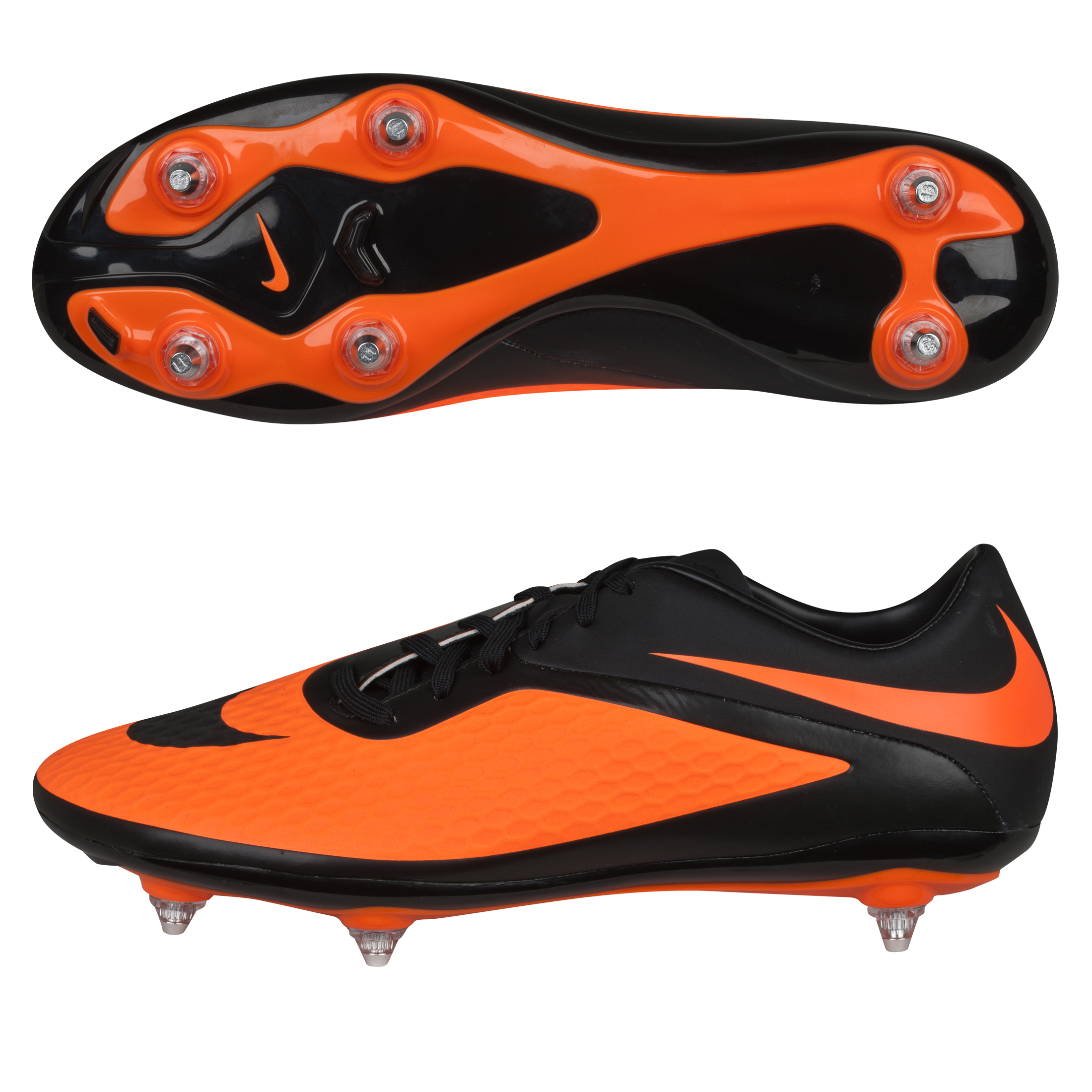 Nike Hypervenom Phelon Soft Ground Football Boots Black