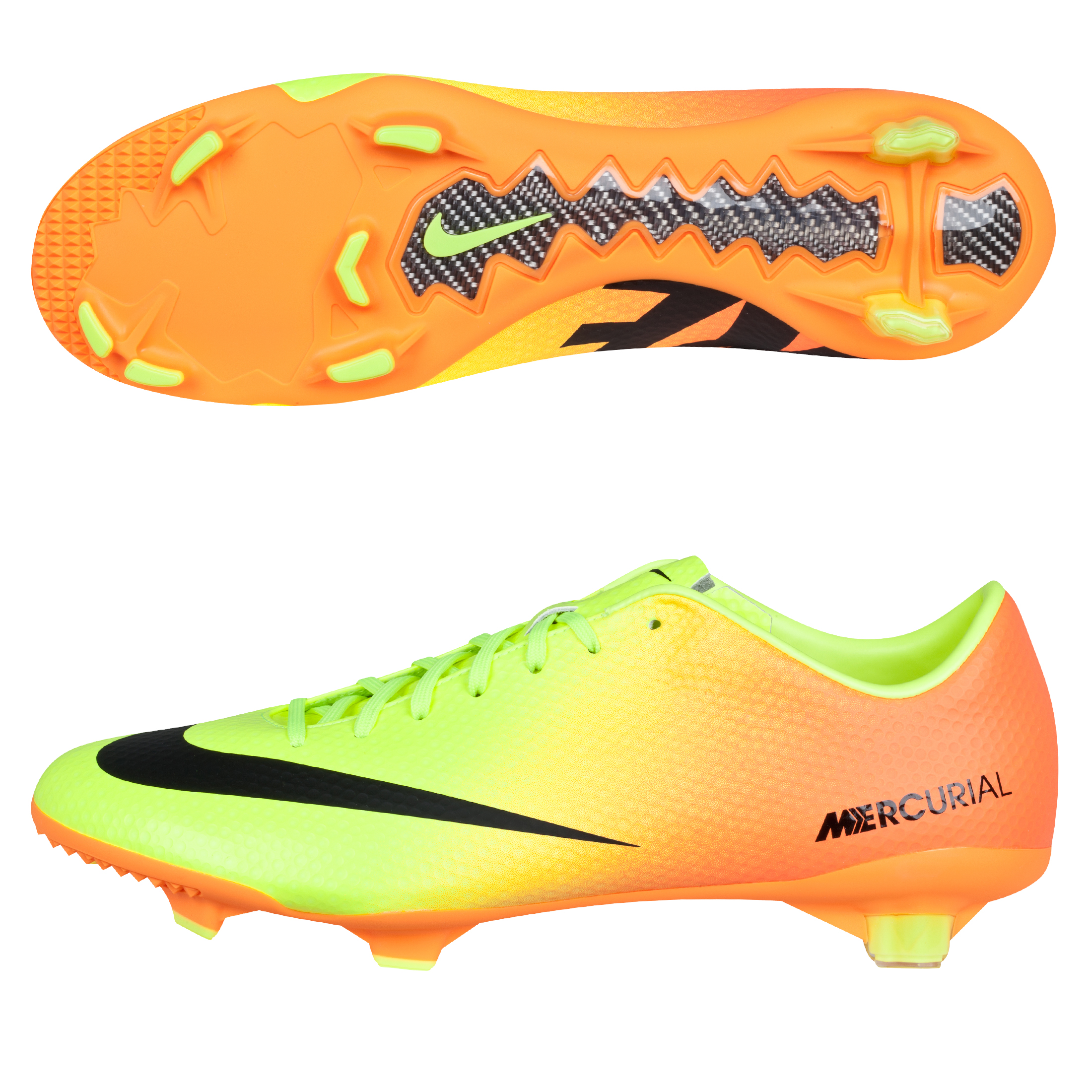 Nike Mercurial Veloce Firm Ground Football Boots Yellow