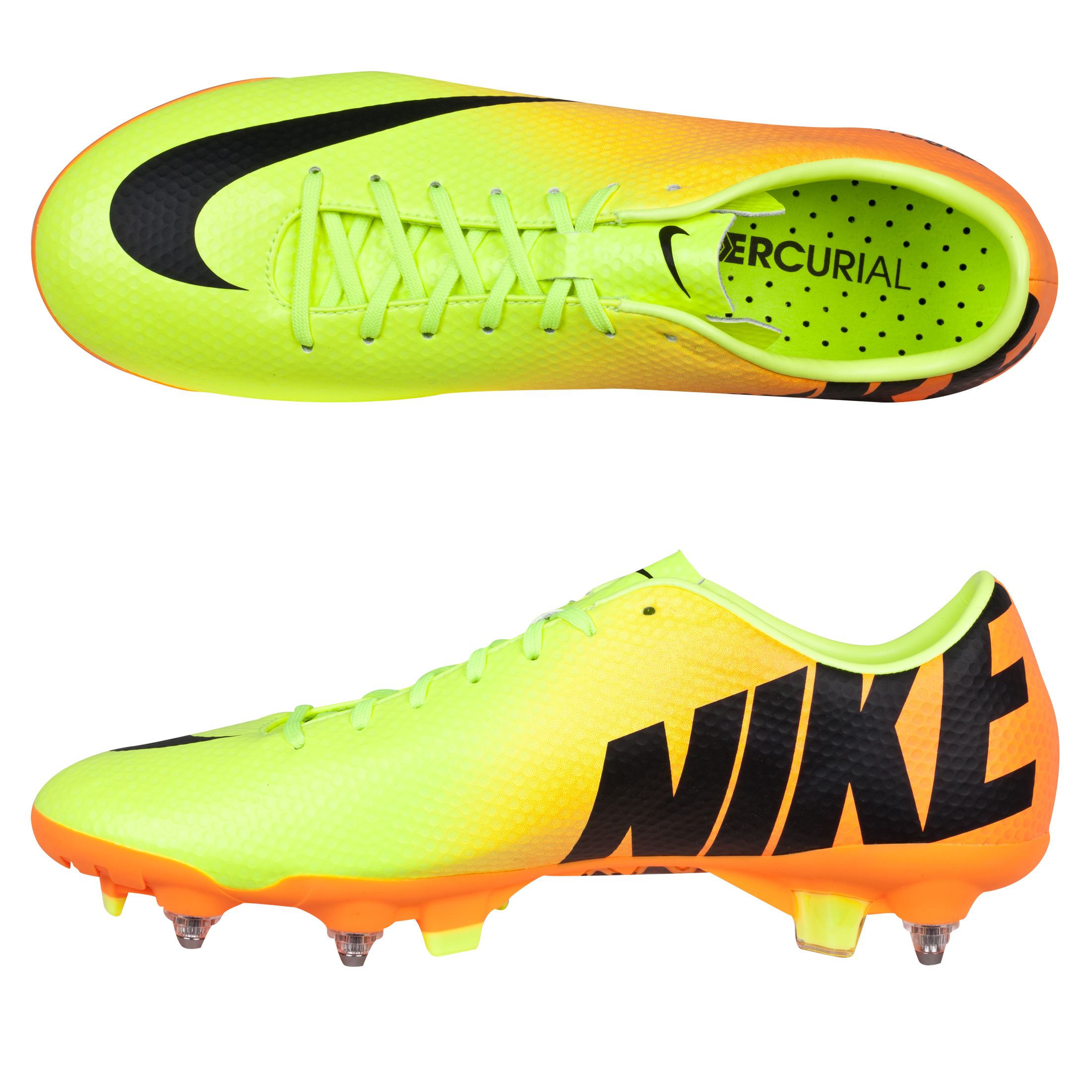Nike Mercurial Veloce Soft Ground Pro Football Boots Yellow