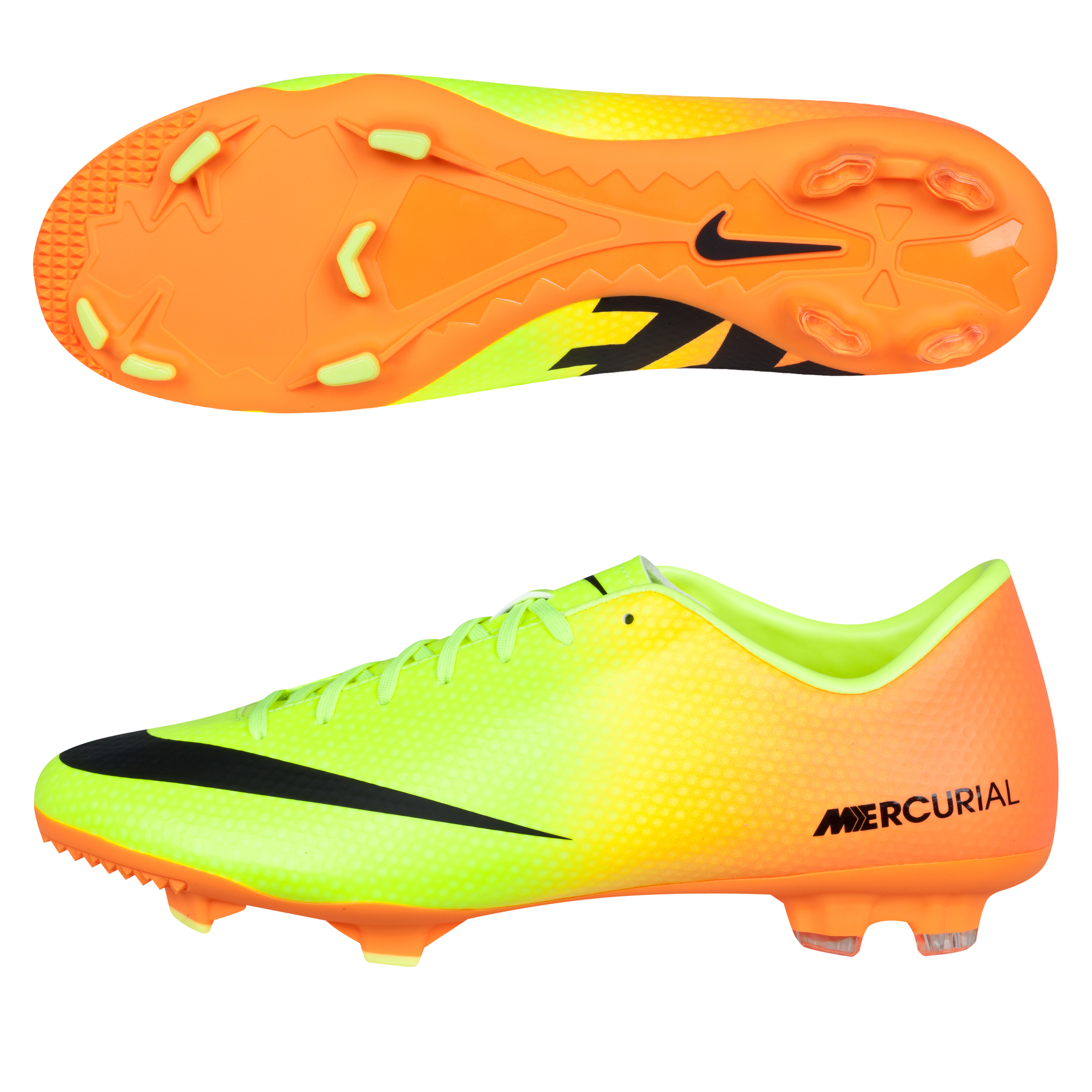Nike Mercurial Victory IV Firm Ground Football Boots Yellow