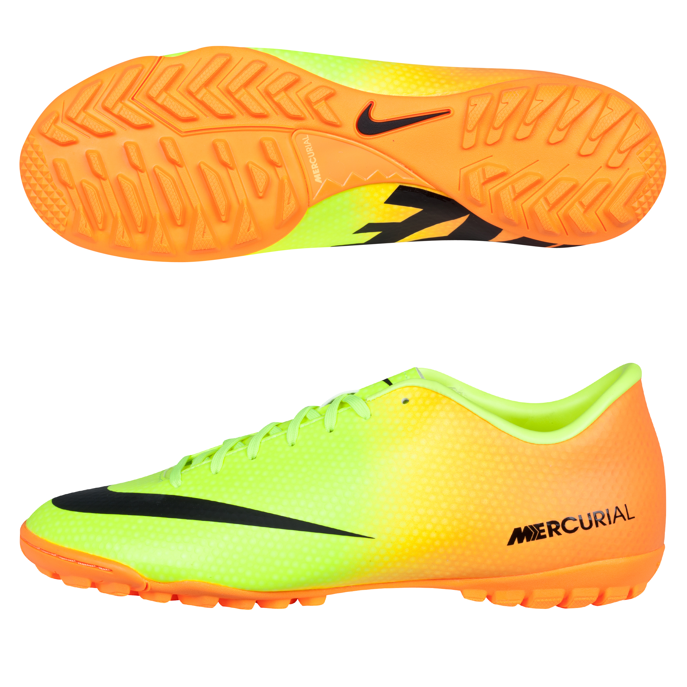 Nike Mercurial Victory IV Astroturf Trainers Yellow