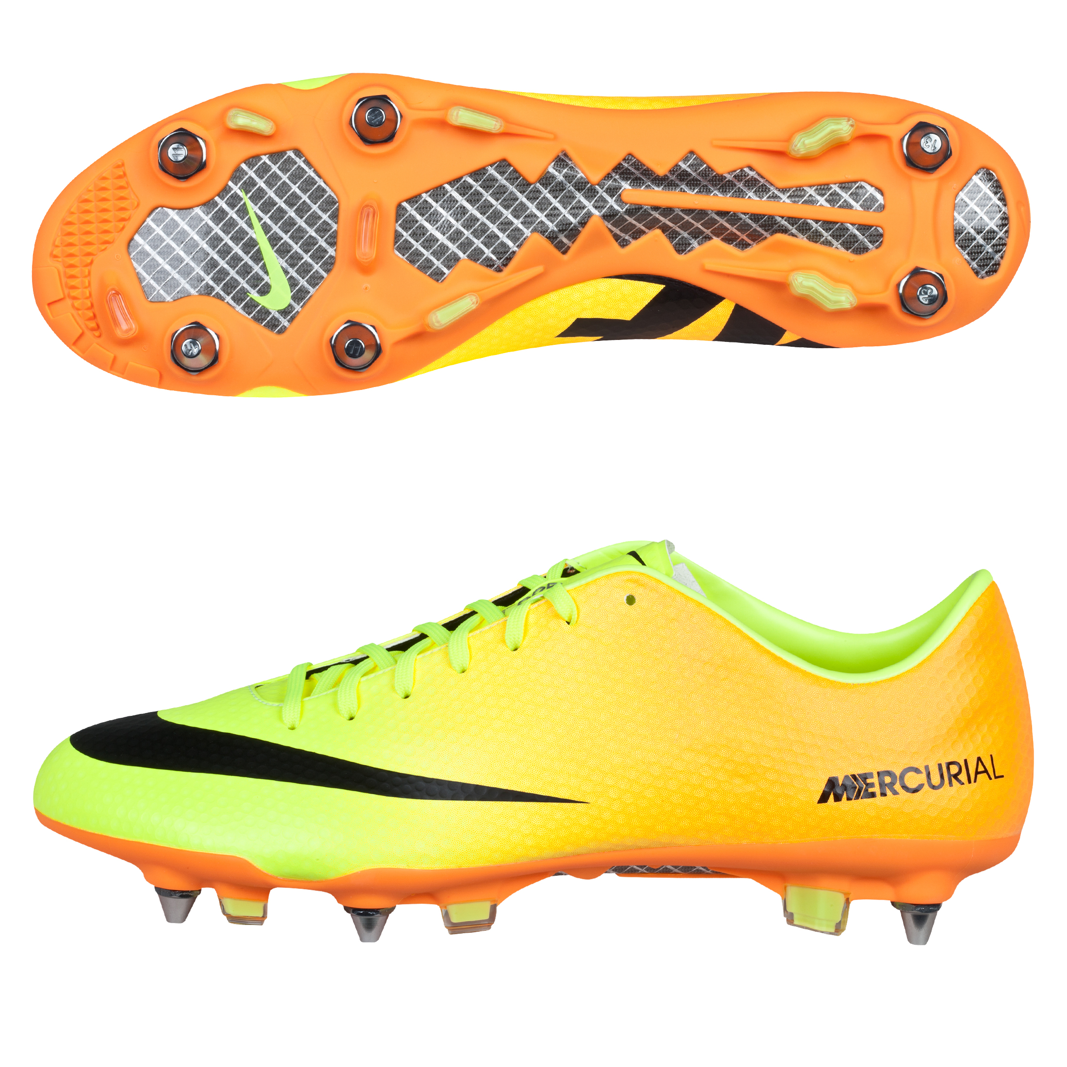 Nike Mercurial Vapor IX Soft Ground Pro Football Boots Yellow