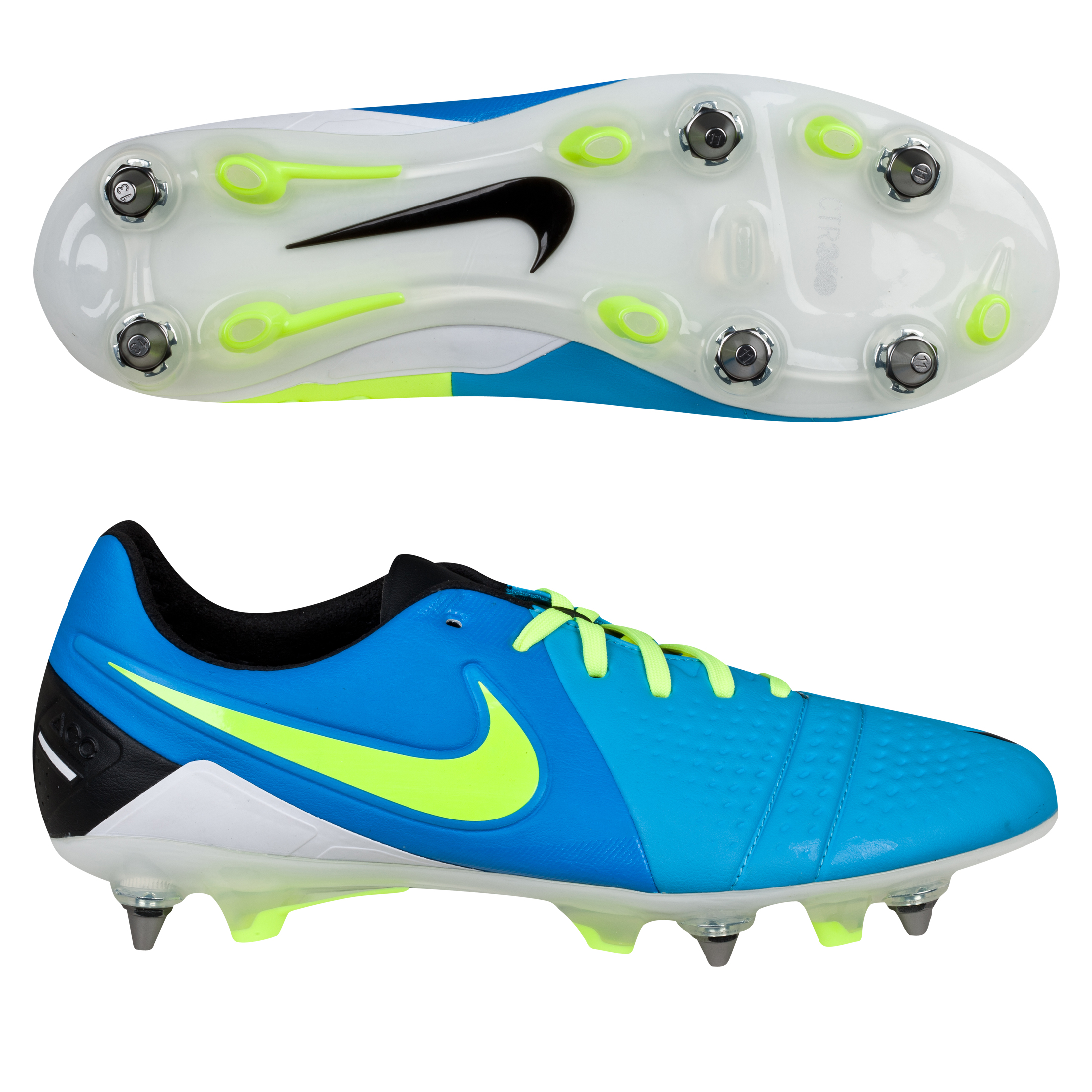 Nike CTR360 Maestri III Soft Ground Pro Football Boots Blue