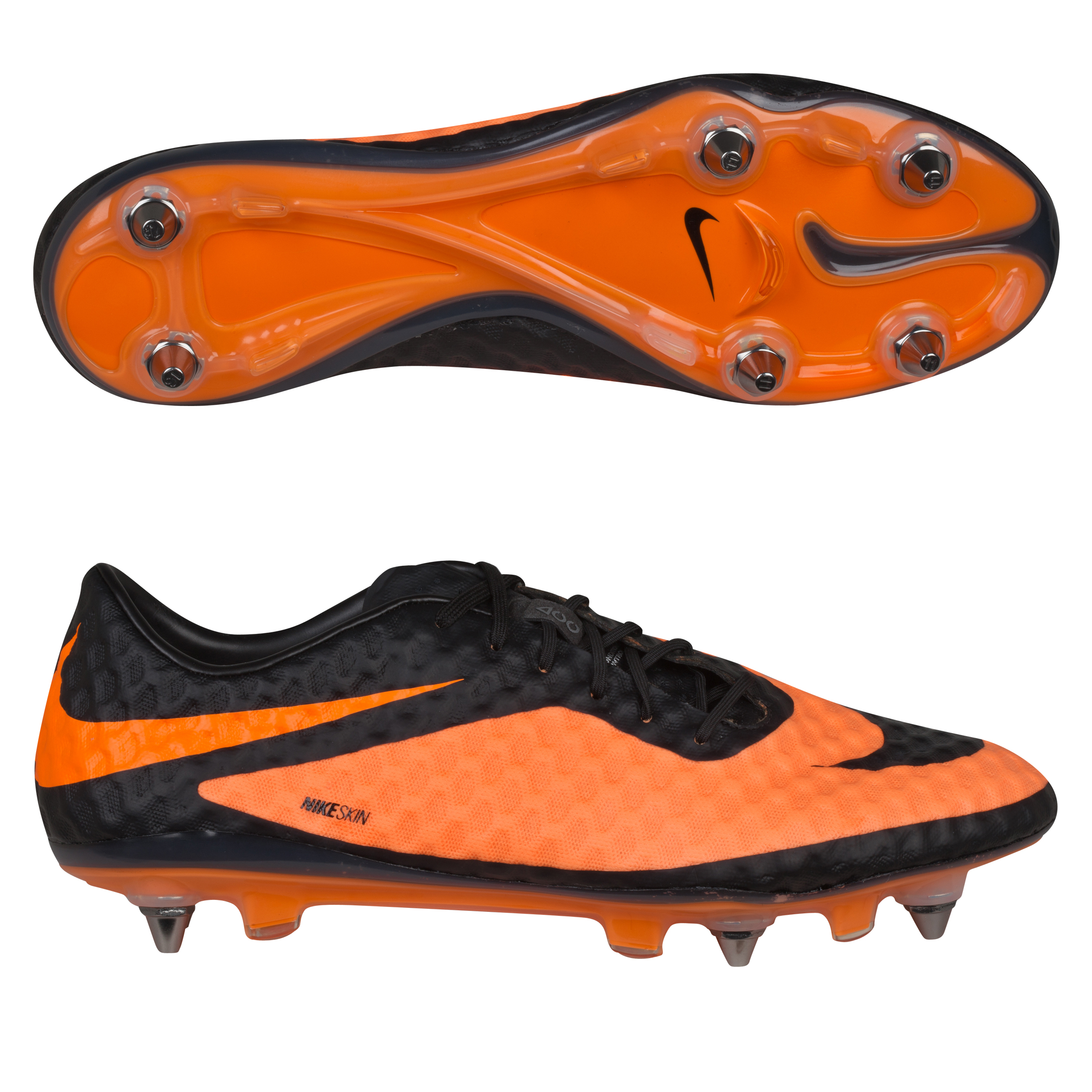 Nike Hypervenom Phantom Soft Ground Pro Football Boots Black
