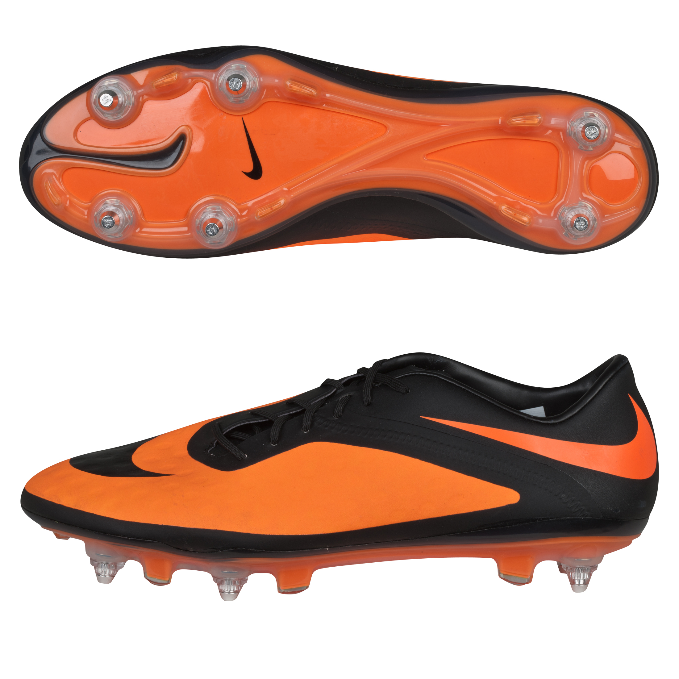 Nike Hypervenom Phatal Soft Ground Pro Football Boots Black