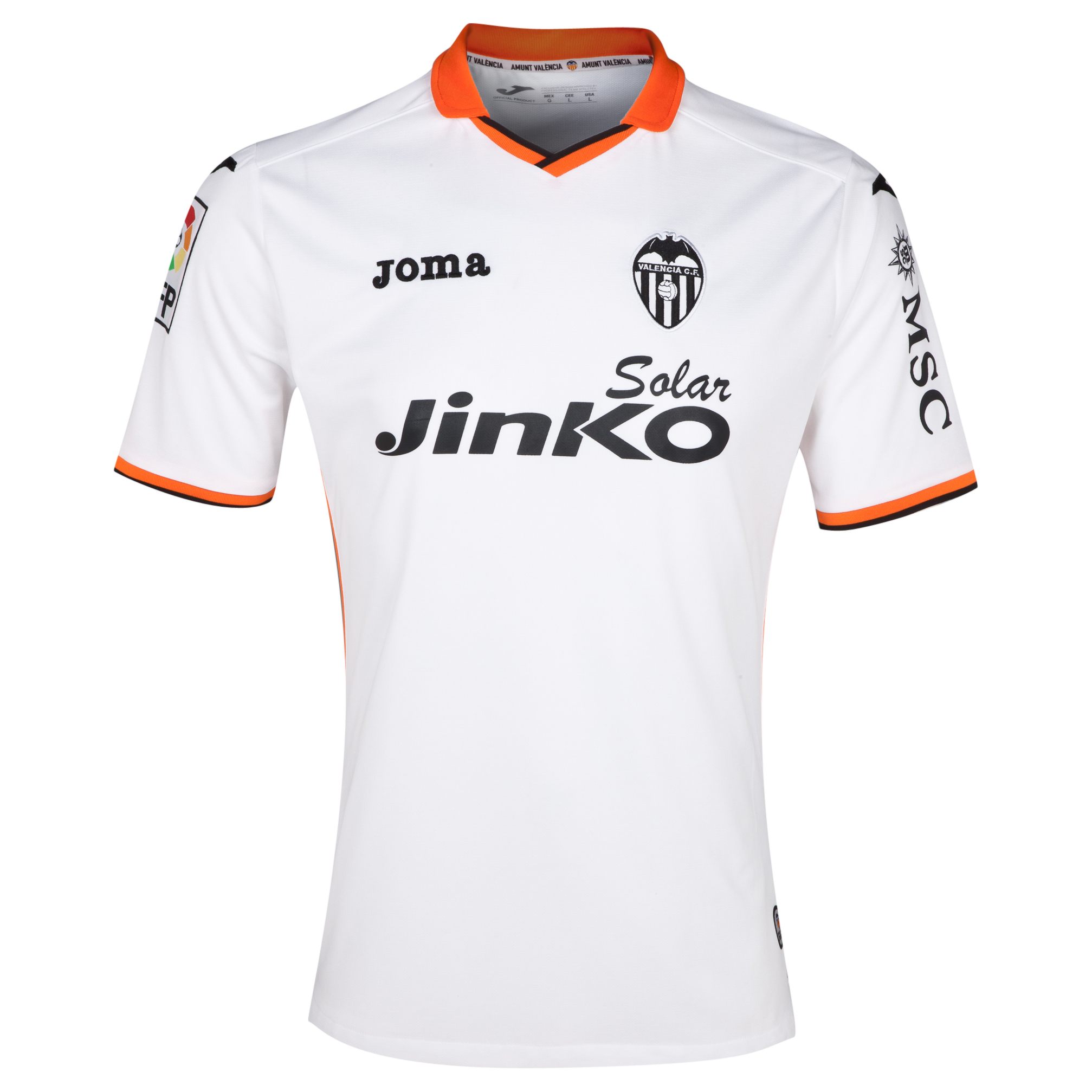 Valencia Home Shirt 2013/14