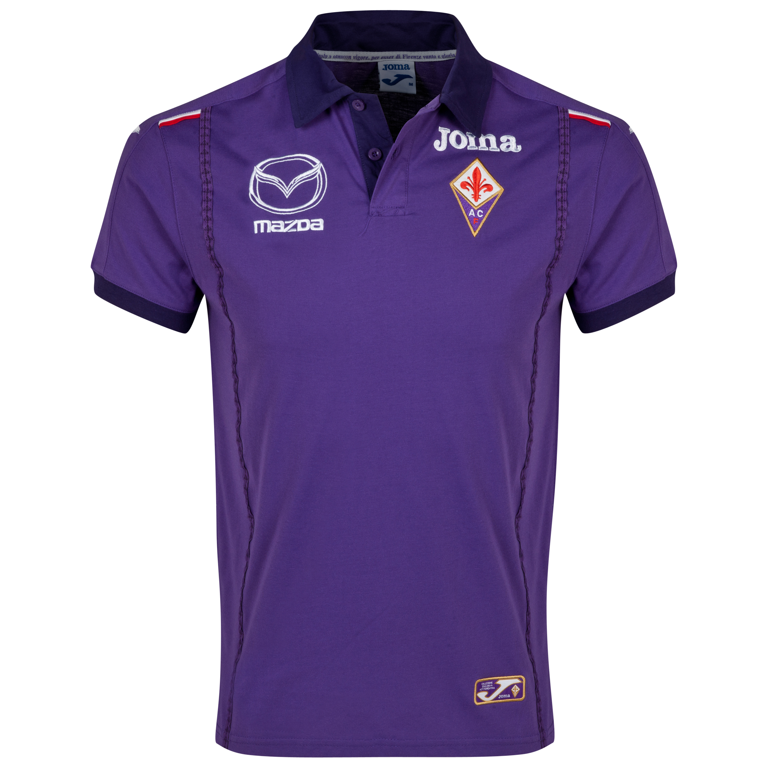 ACF Fiorentina Polo - Purple/Black Purple