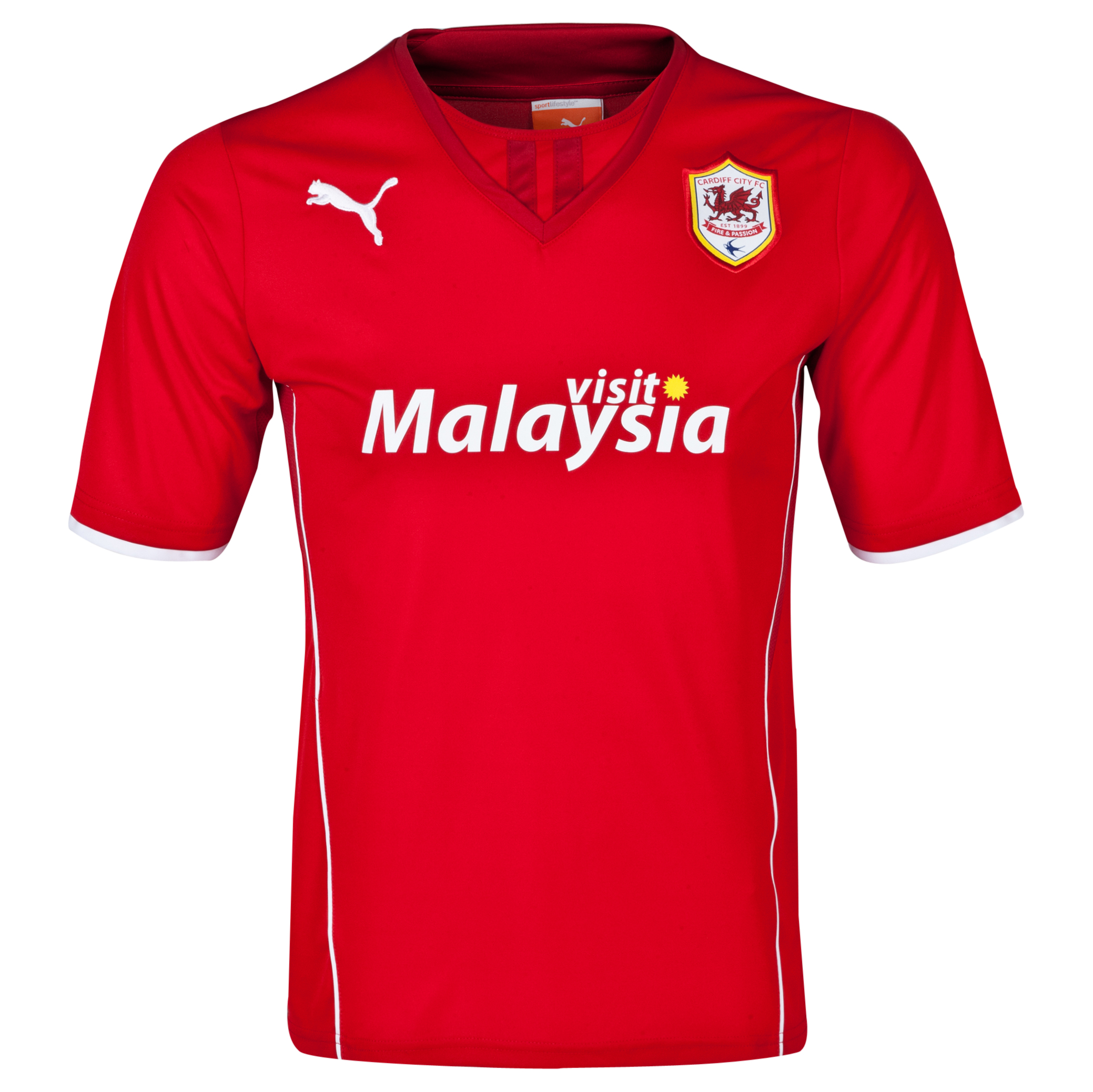 Cardiff City Home Shirt 2013/14 - Kids