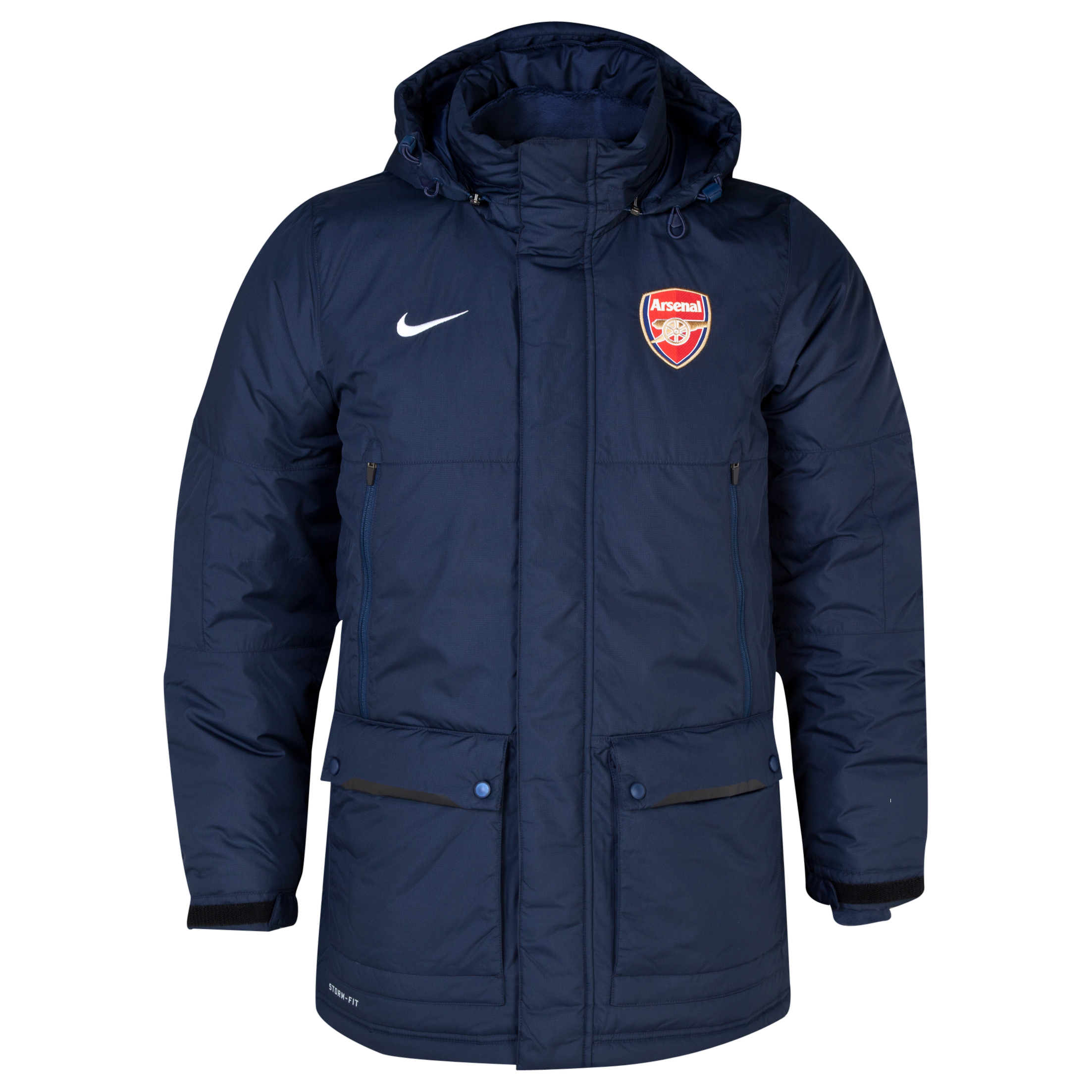 Arsenal Squad Medium Fill Jacket Blue