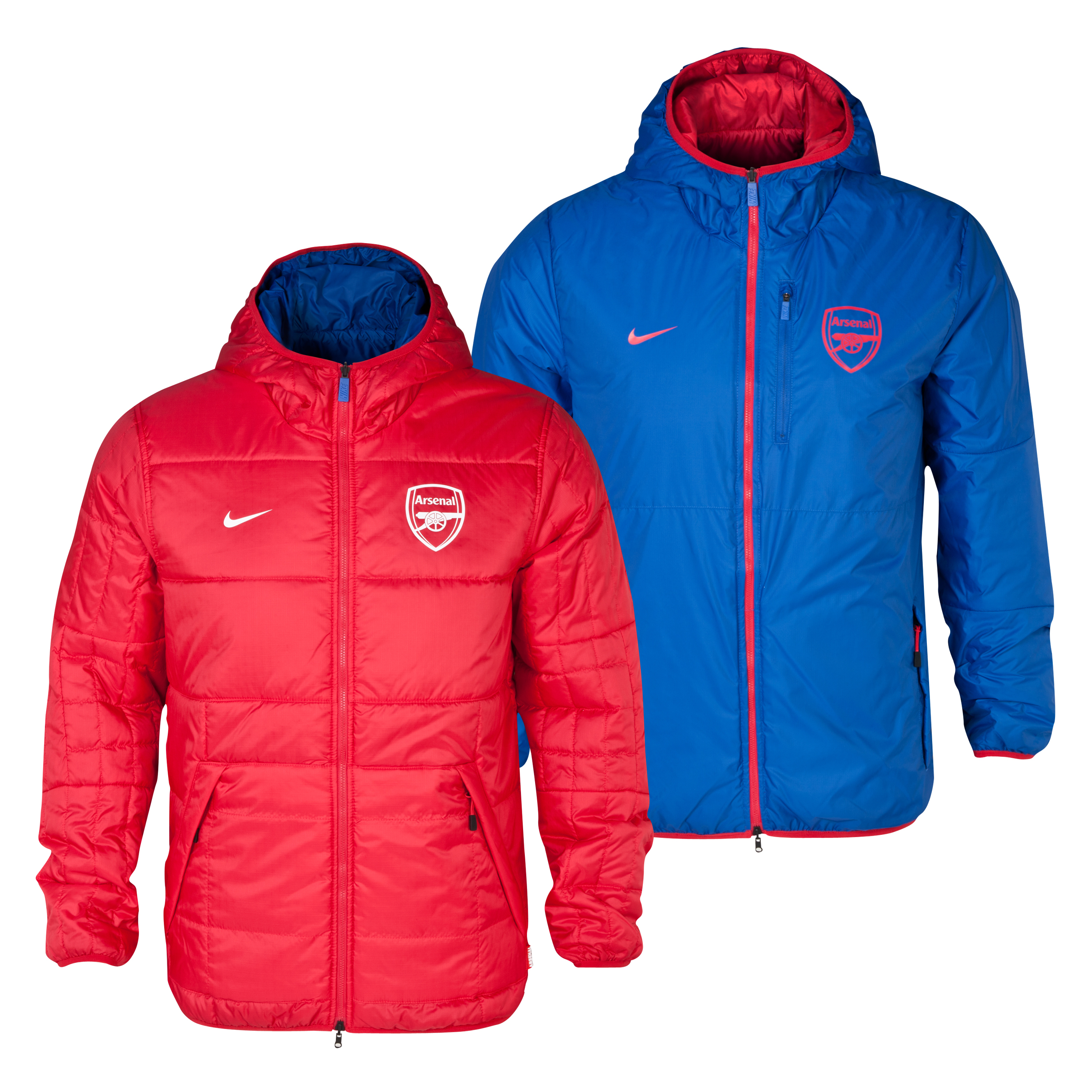 Arsenal Alliance Flip It Jacket Blue